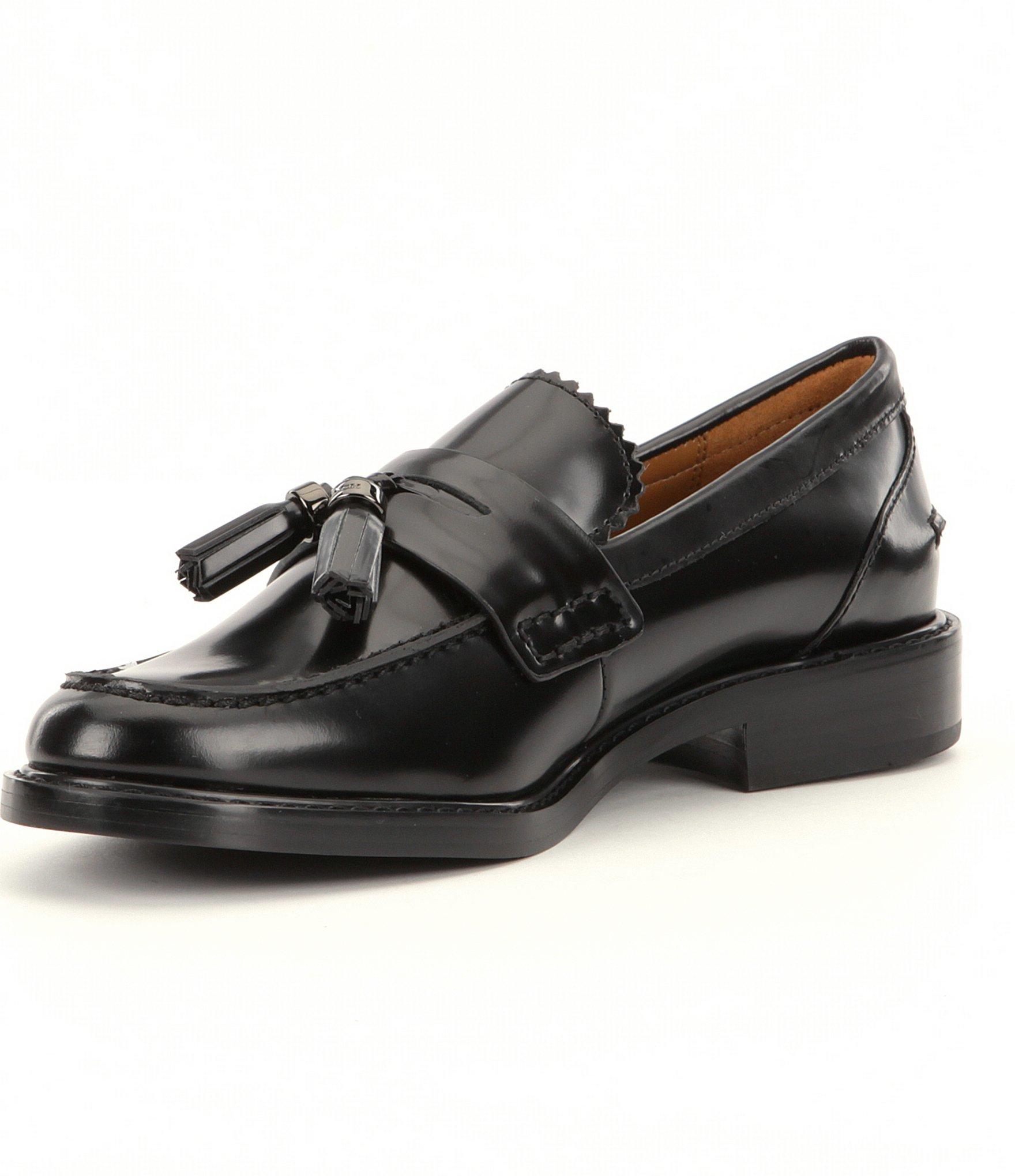 8eef62e1005 Lyst - COACH Izabella Loafer in Black