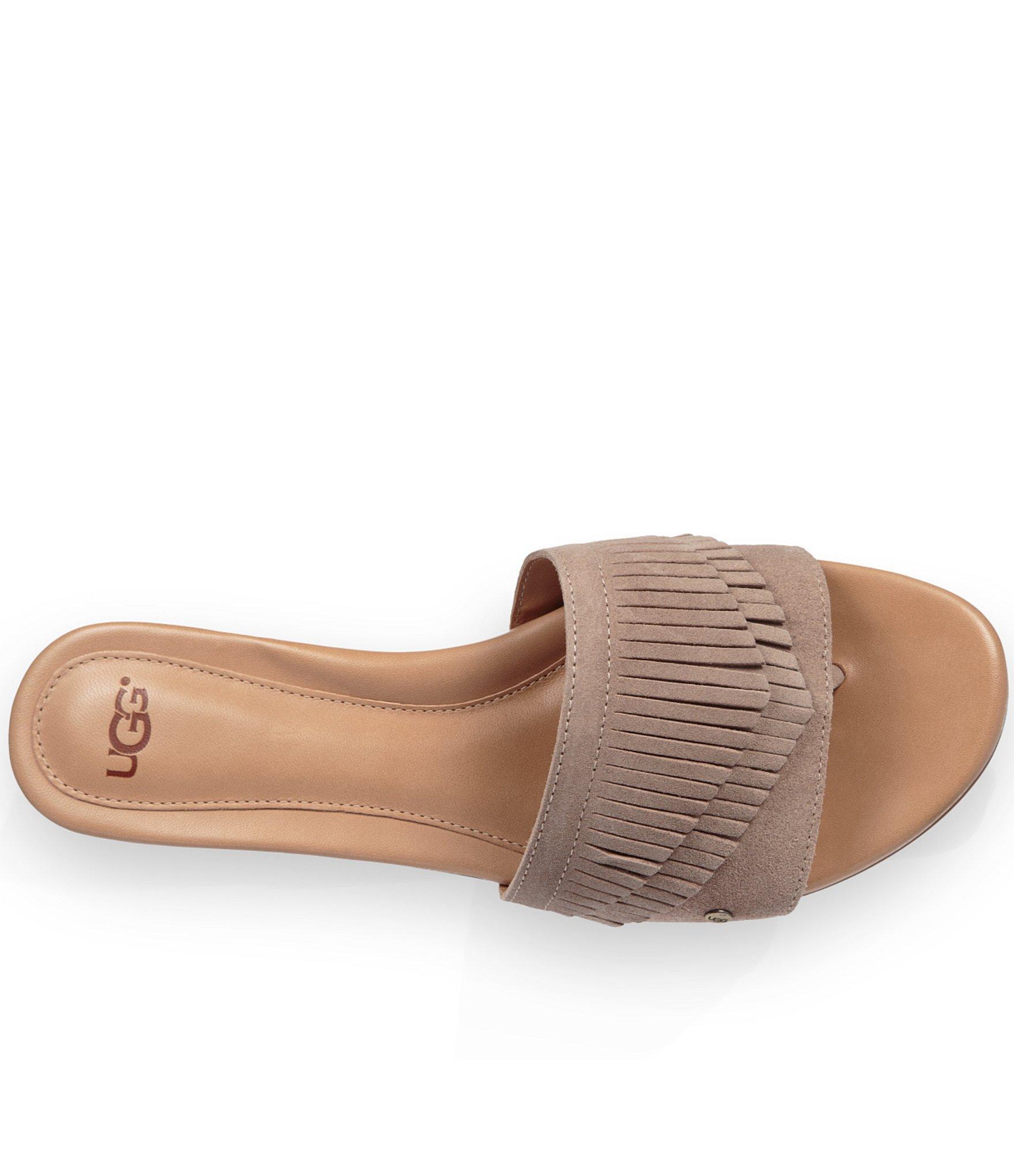 Lyst Ugg 174 Binx Slide On Sandals In Black