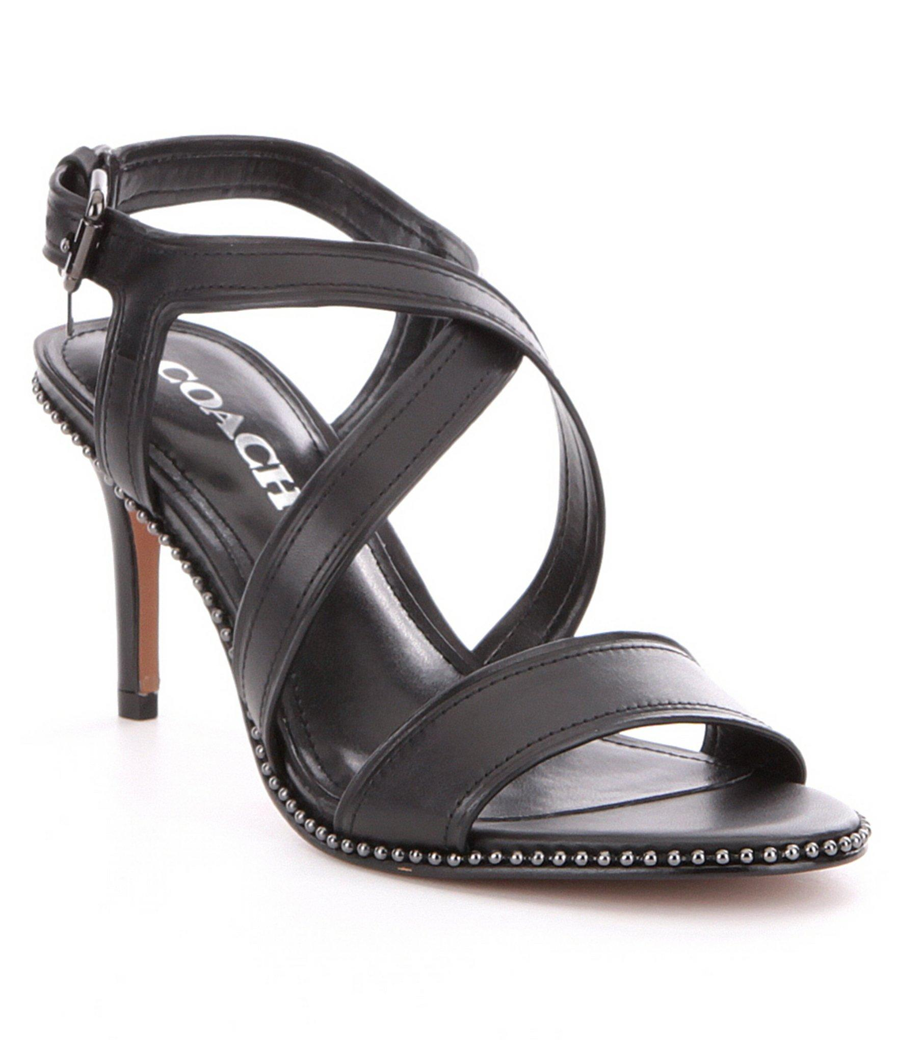 Lyst - Coach Wendi Heel in Black