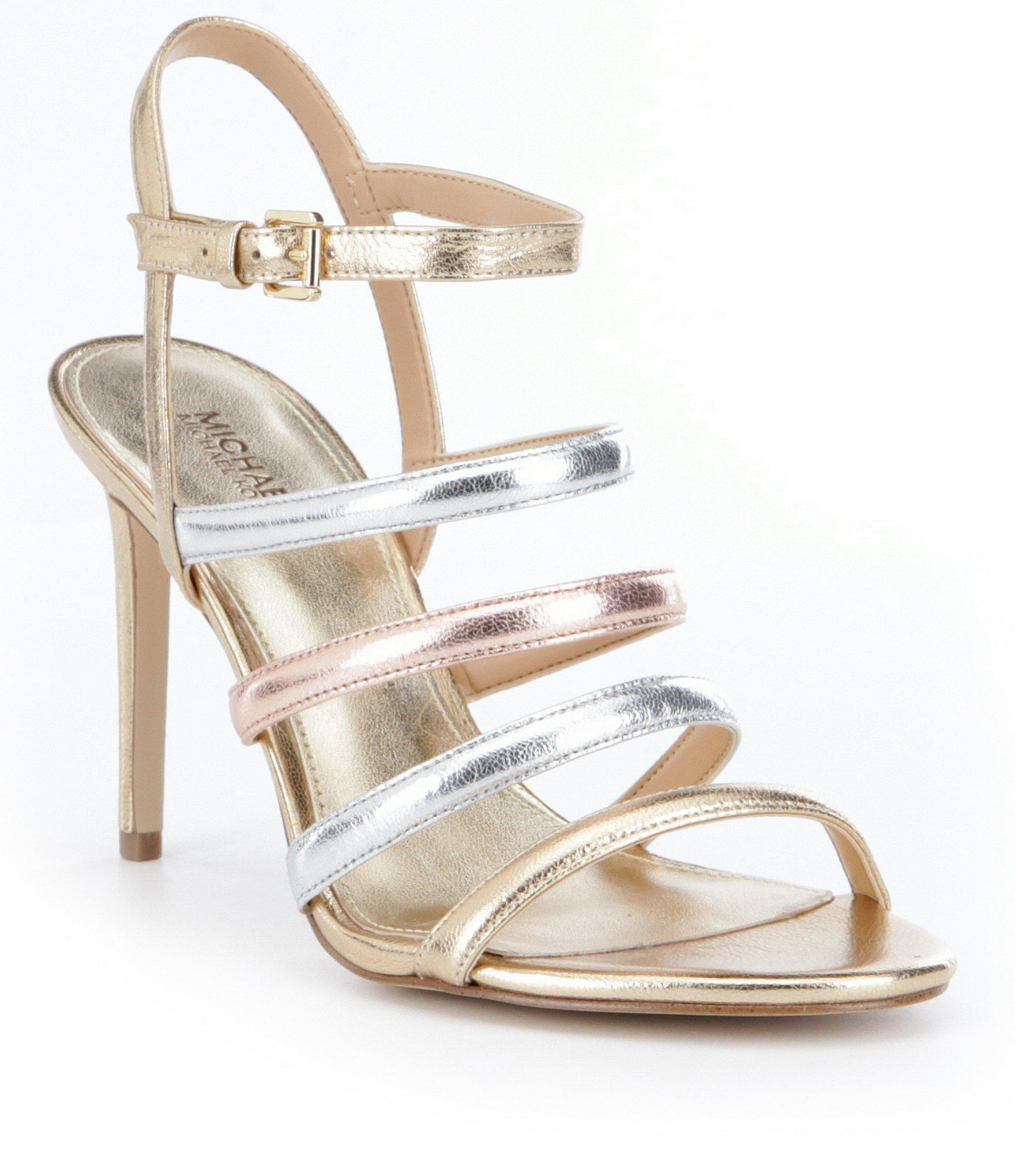 e530f01ea9f Lyst - MICHAEL Michael Kors Nantucket Sandals in Metallic