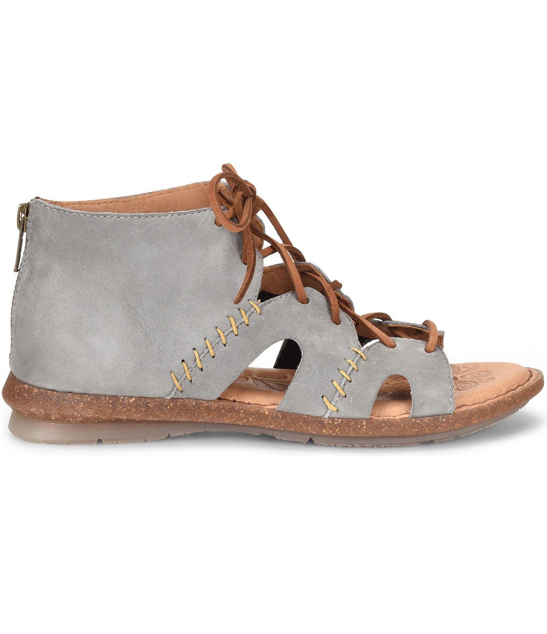 5ffb40ed2b4e Lyst - Born Nea Gladiator Sandals in Gray