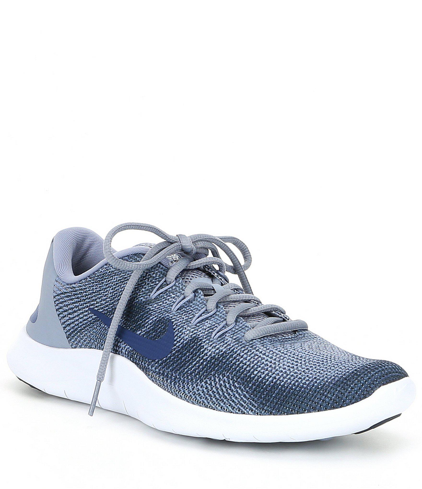 e031e7b9c6 Nike Men's Flex 2018 Rn Running Shoes in Blue for Men - Save 41% - Lyst