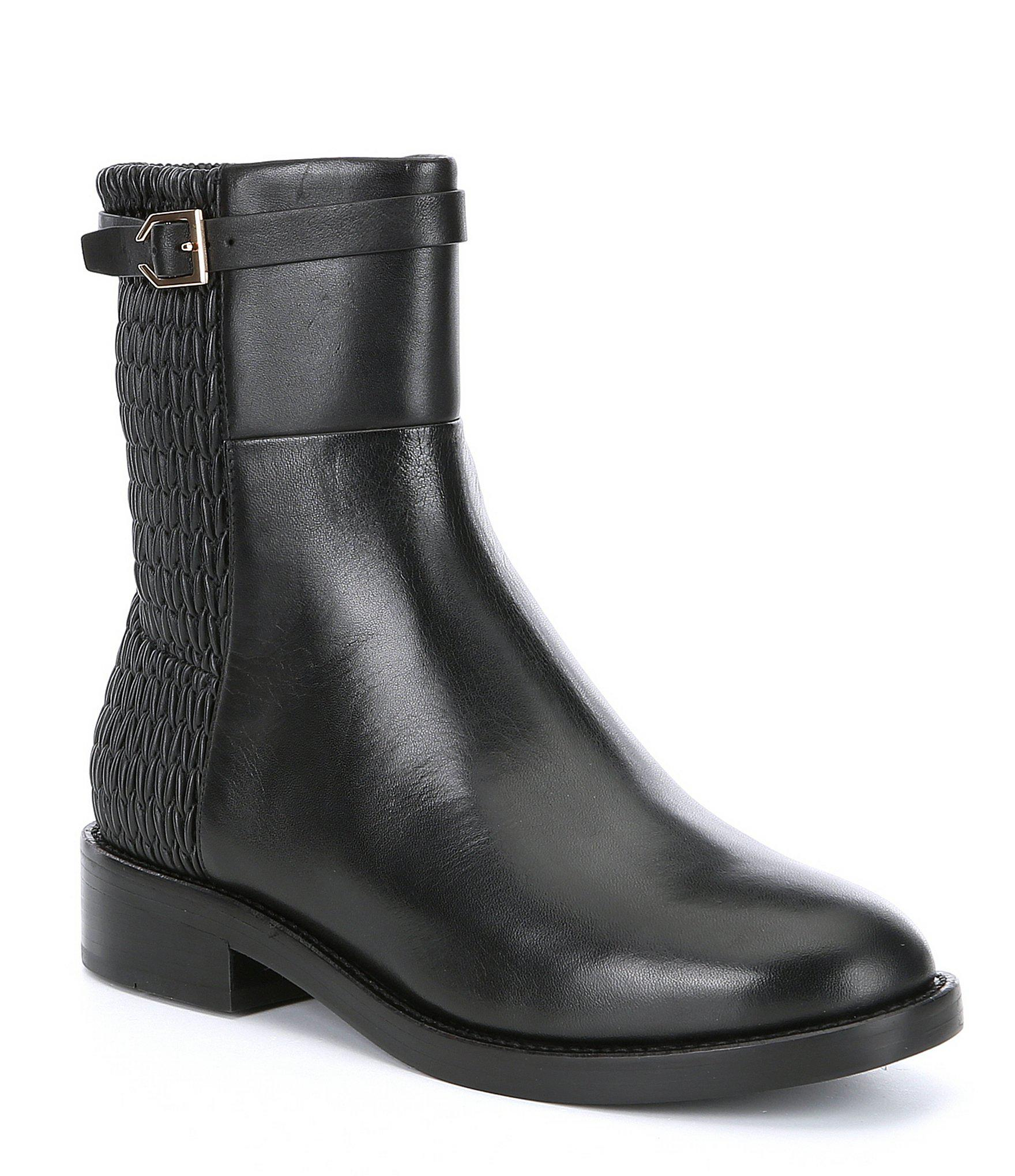 fb3e625e1db Lyst - Cole Haan Lexi Grand Stretch Booties in Black