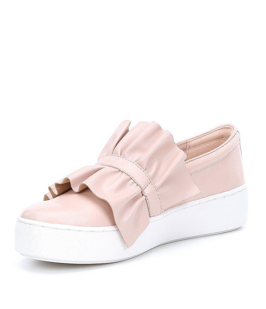 Pink Bella Rosa slip on with ruffles Michael Kors HE9JD3dv