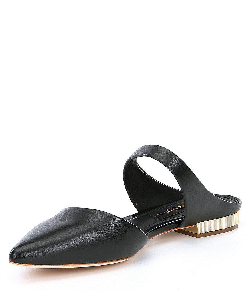 Paris Slip-On Leather Flats j1hKXJBl