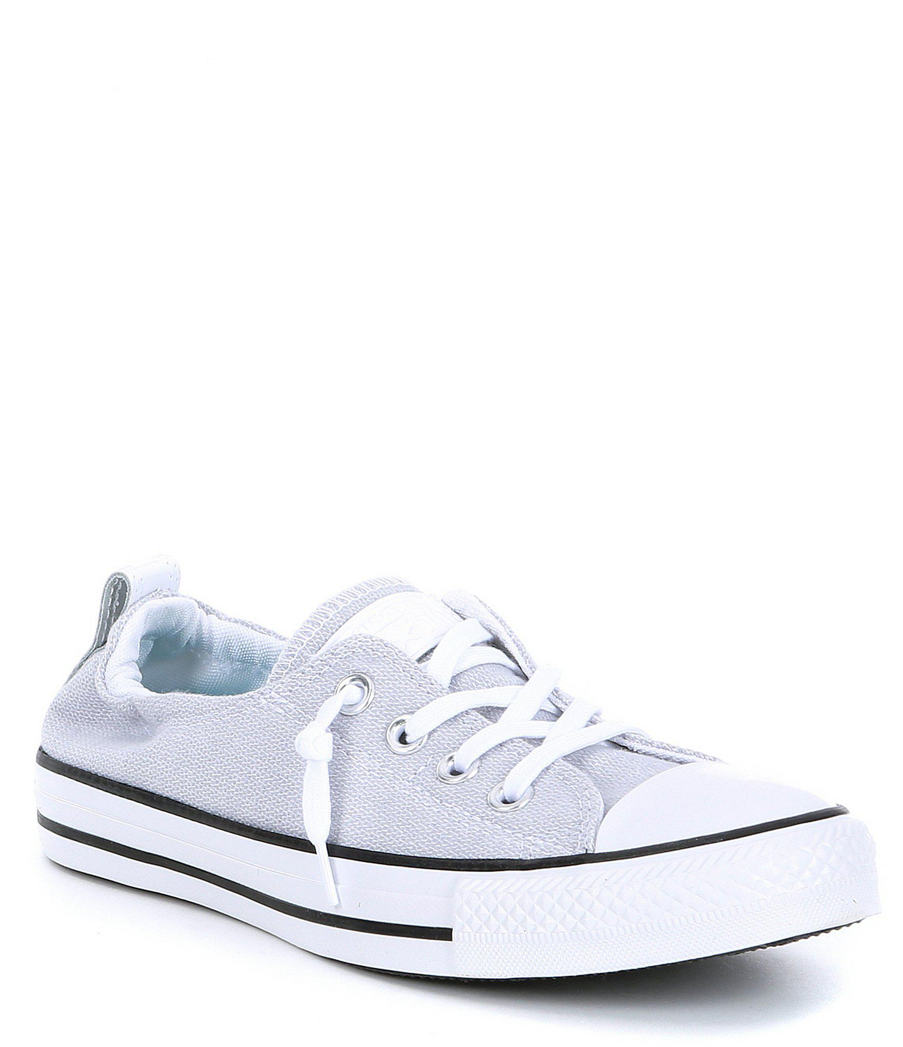 609bf911cac652 Converse. Women s White Chuck Taylor All Star Shoreline Slip On Sneakers