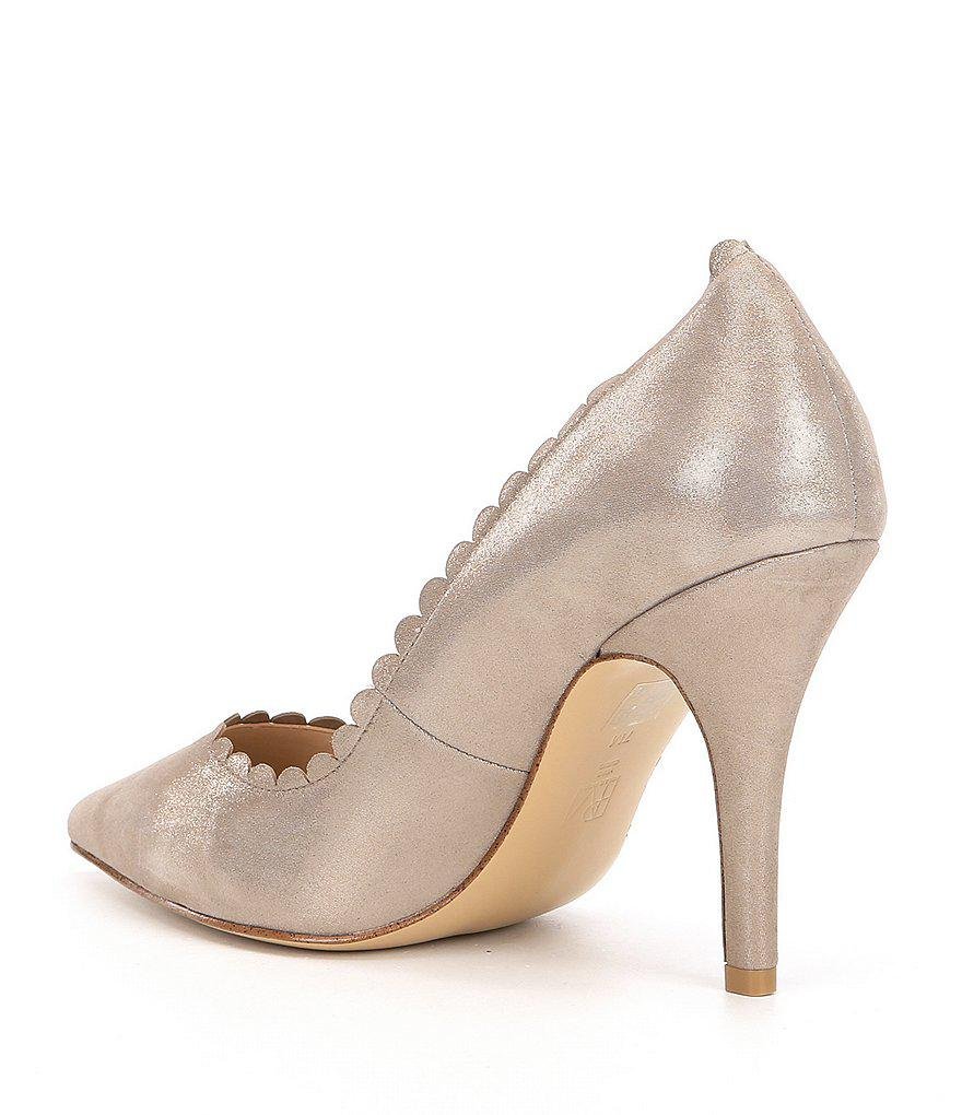 Vail Suede Scalloped Pumps XpXOb8yKW