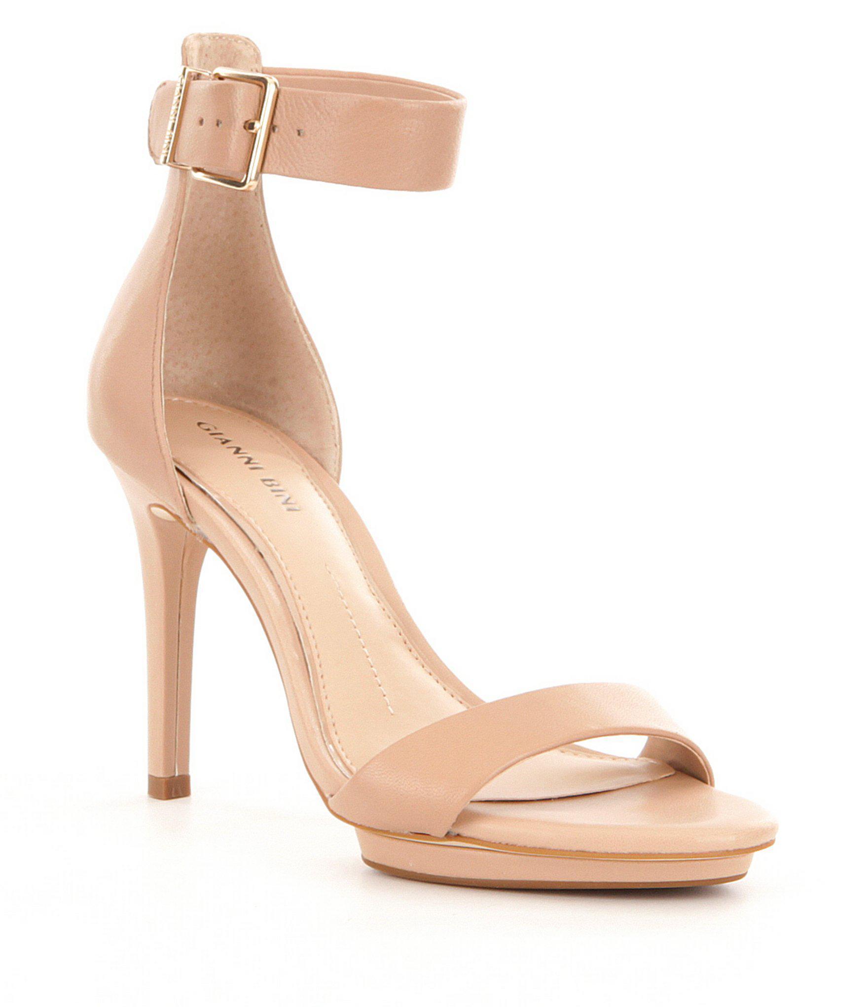 54ffbc485a4 Gianni Bini Lizette Dress Sandals in Pink - Lyst