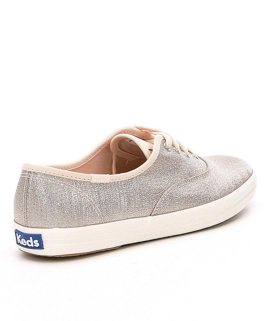 a8006d491b5 Lyst - Keds Champion Lurex Sneakers