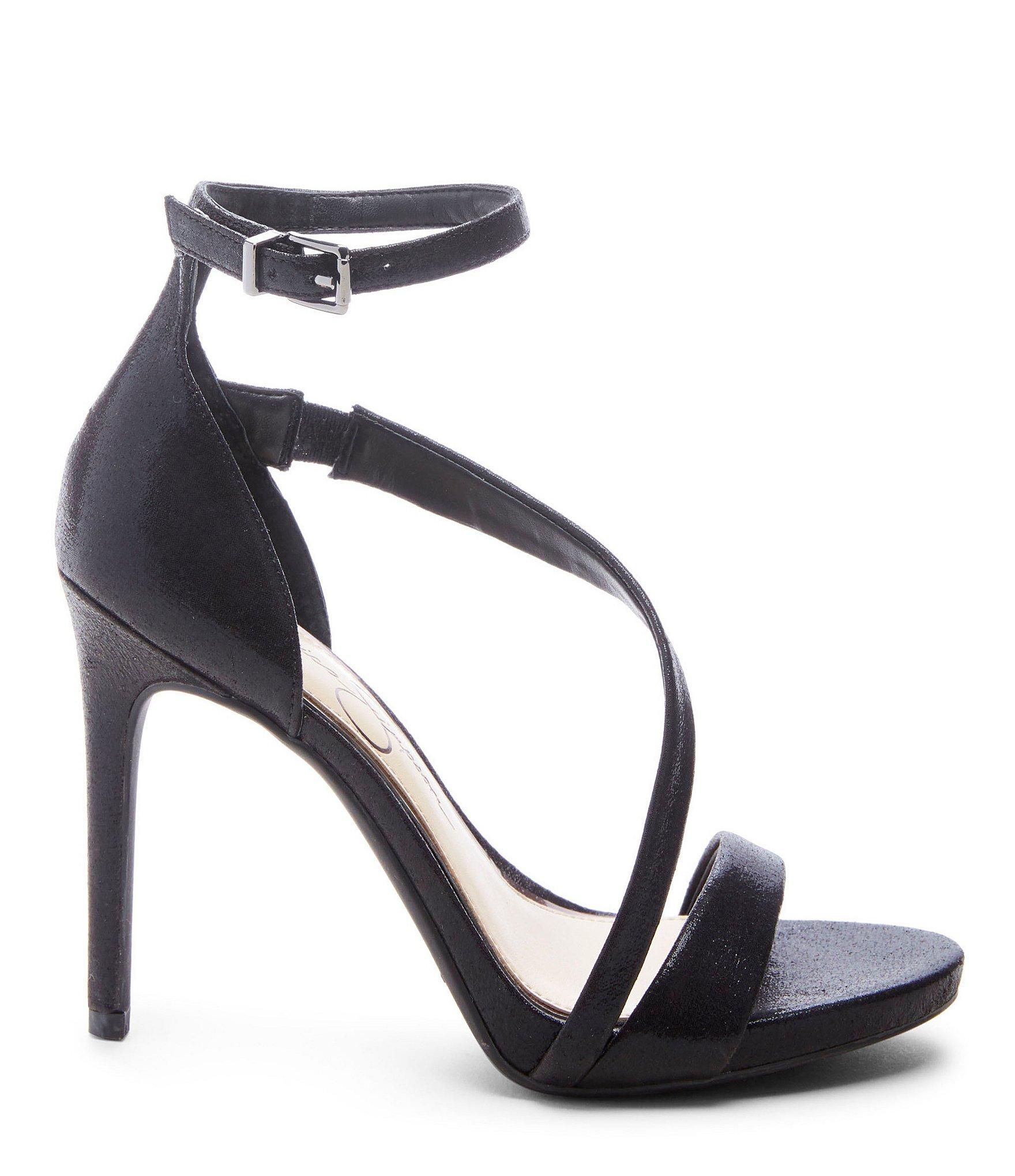 a7b47d5bbc9 Jessica Simpson - Black Rayli2 Strappy Dress Sandals - Lyst. View fullscreen