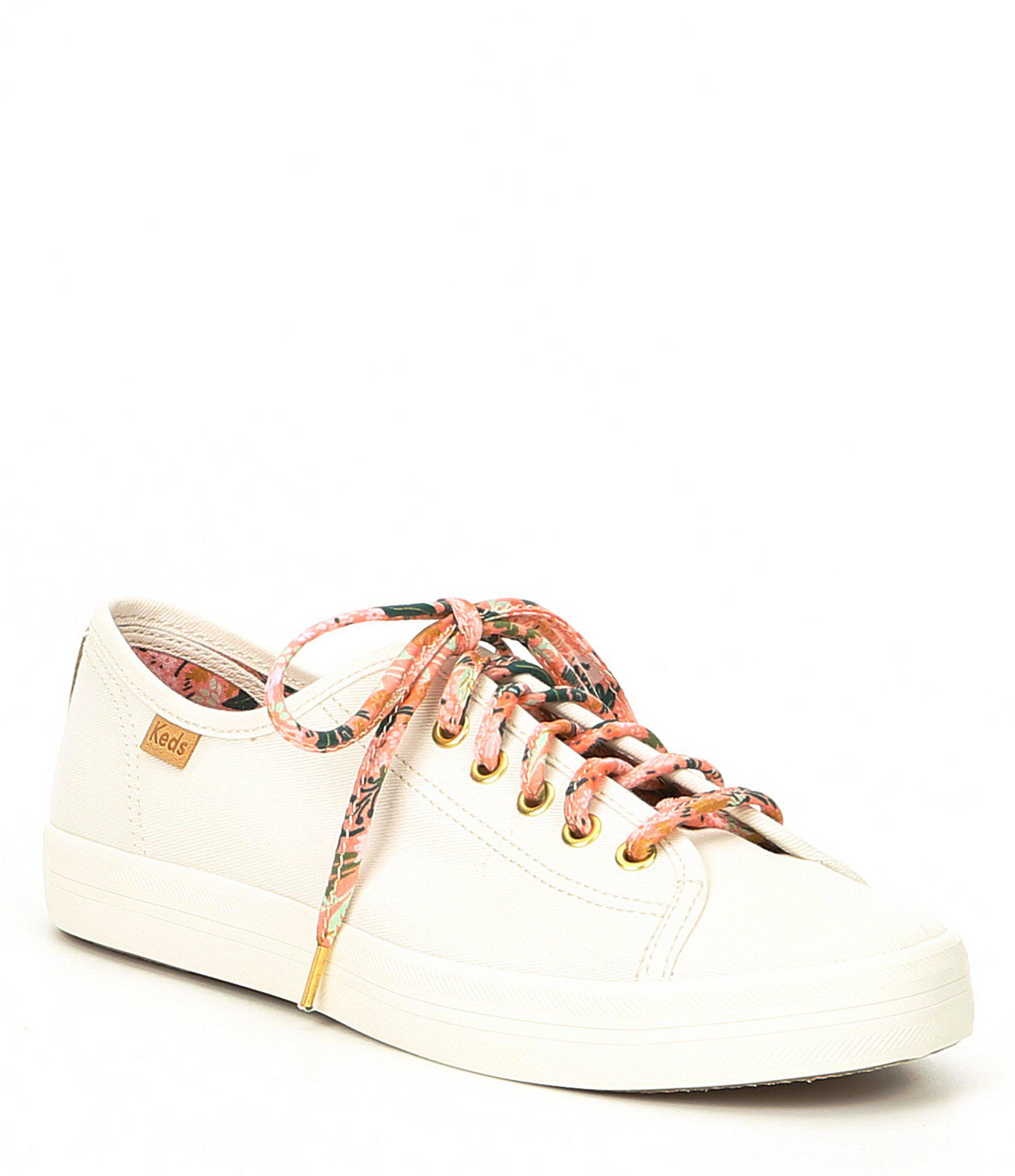 9fd18cd246 Lyst - Keds X Rifle Paper Co. Kickstart Meadow Floral Sneakers
