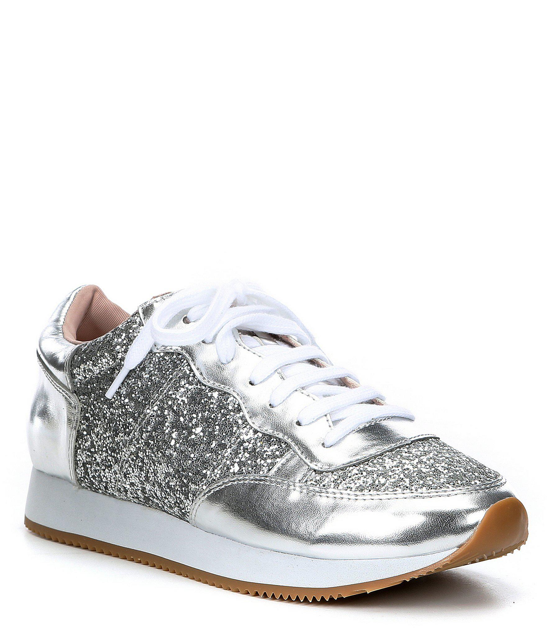 f8f6cd7734e Lyst - Kate Spade Felicia Walking Shoe in Metallic - Save 60%