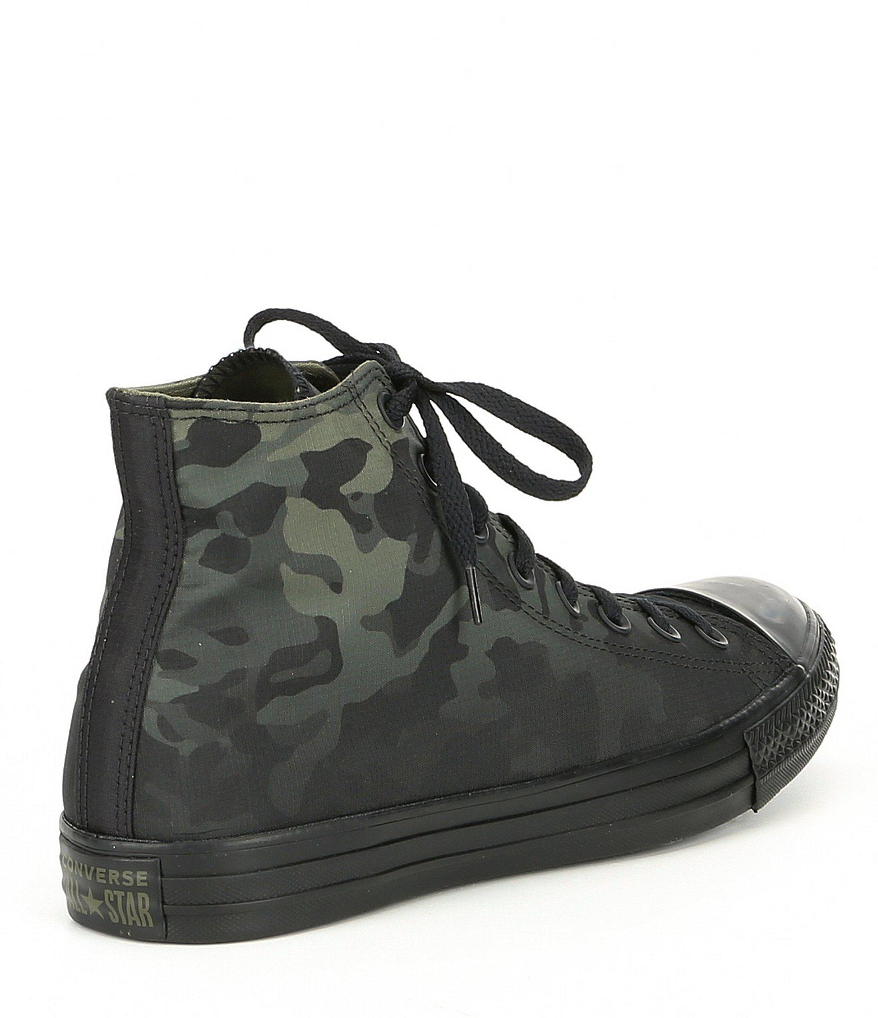 b02af91af93 Converse - Black Men's Chuck Taylor All Star Camouflage High Top for Men -  Lyst. View fullscreen