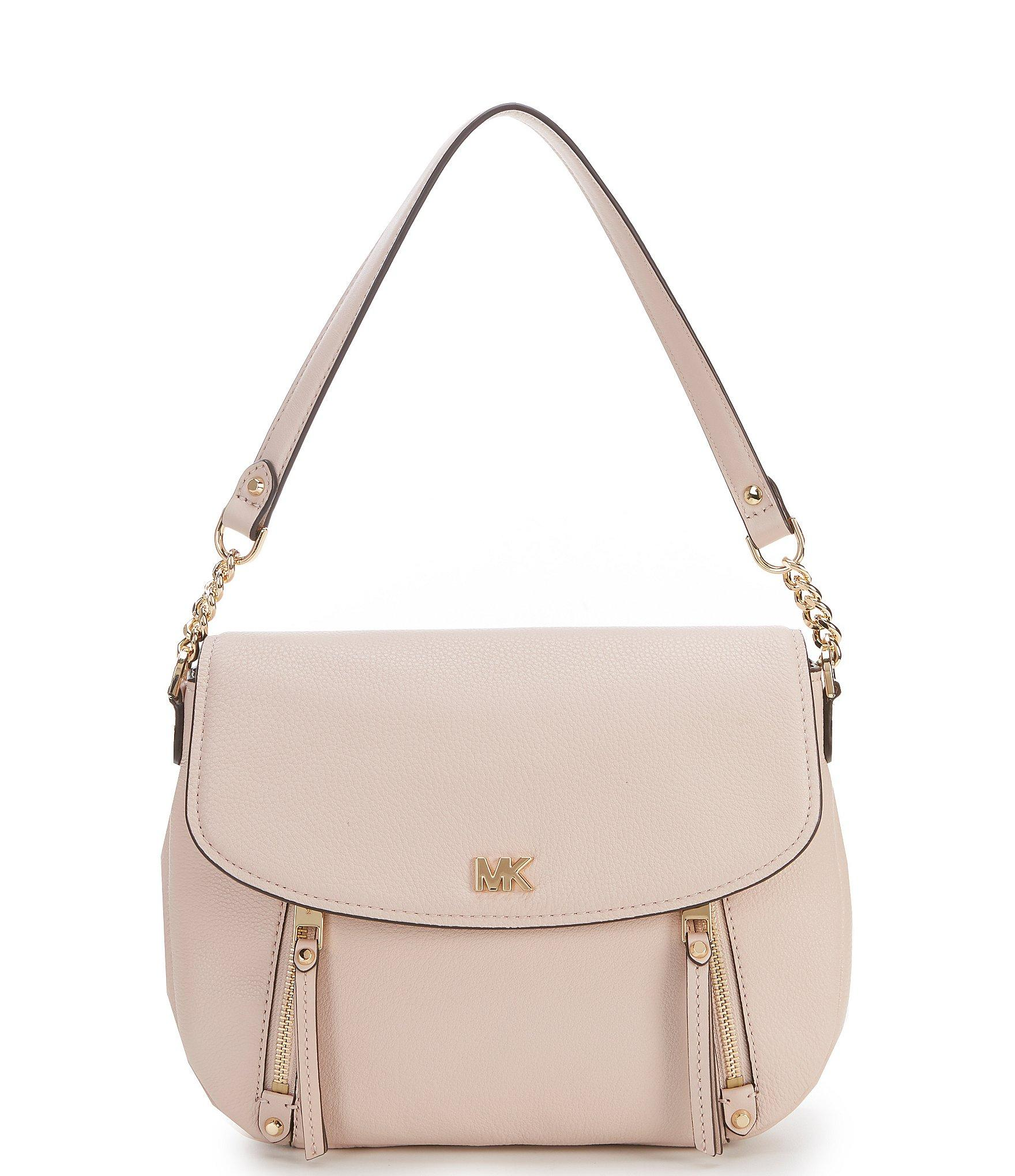 f2173595c7bb MICHAEL Michael Kors Evie Medium Shoulder Bag in Pink - Lyst