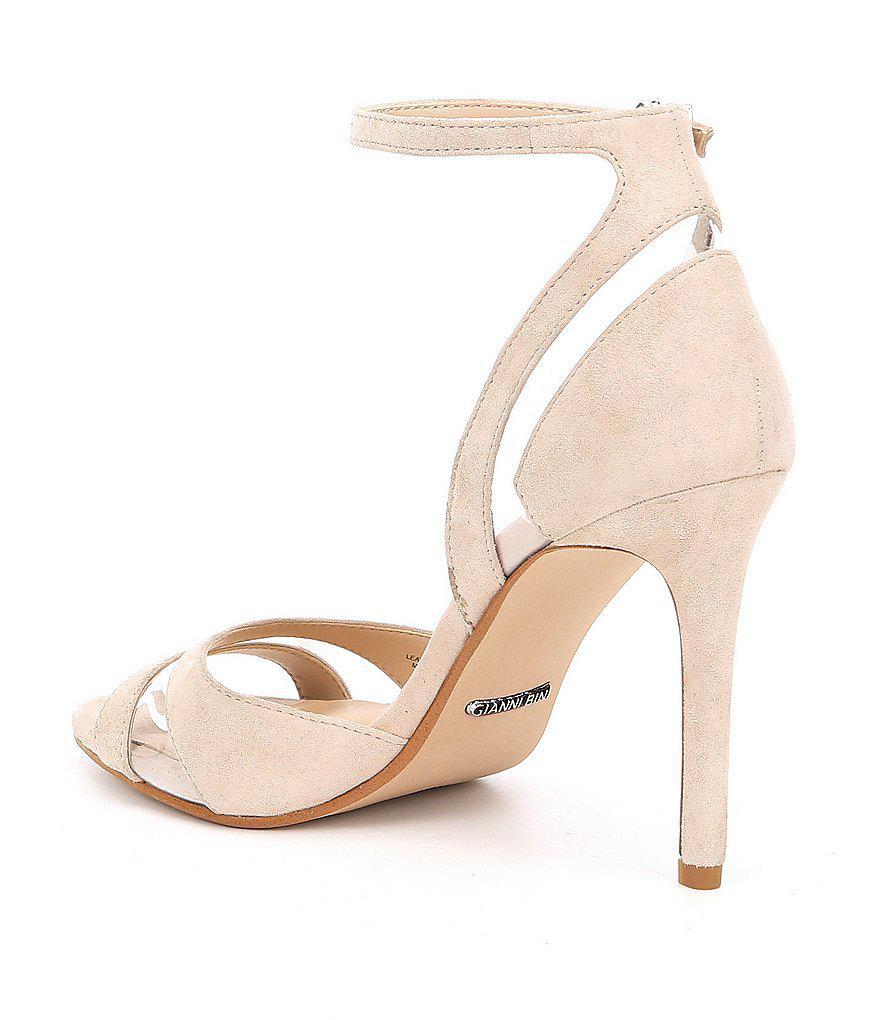 Cicee Suede and Vinyl Dress Sandals m6xi1D
