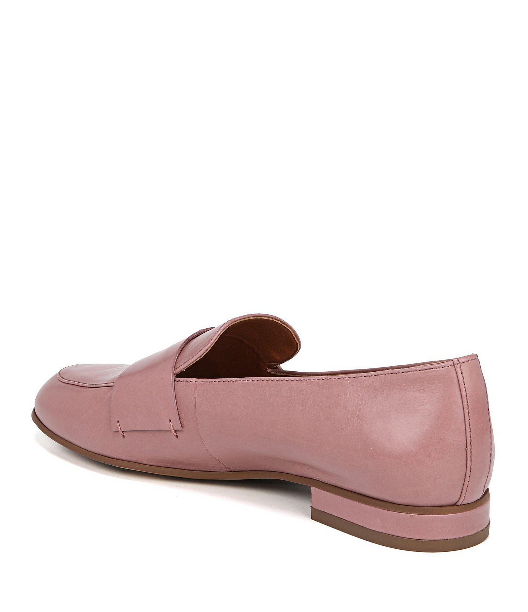 3fe6d251d49 Lyst - Franco Sarto Sarto By Kip Leather Loafers in Pink
