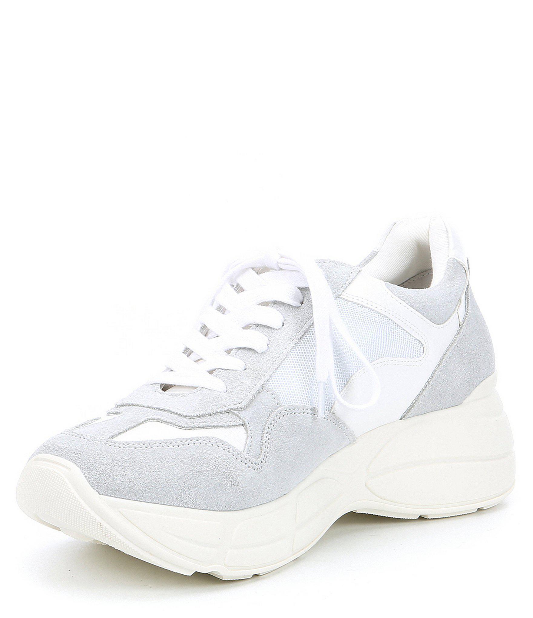 1fbc848412c Lyst - Steve Madden Men s Cole Leather Sneaker in White for Men