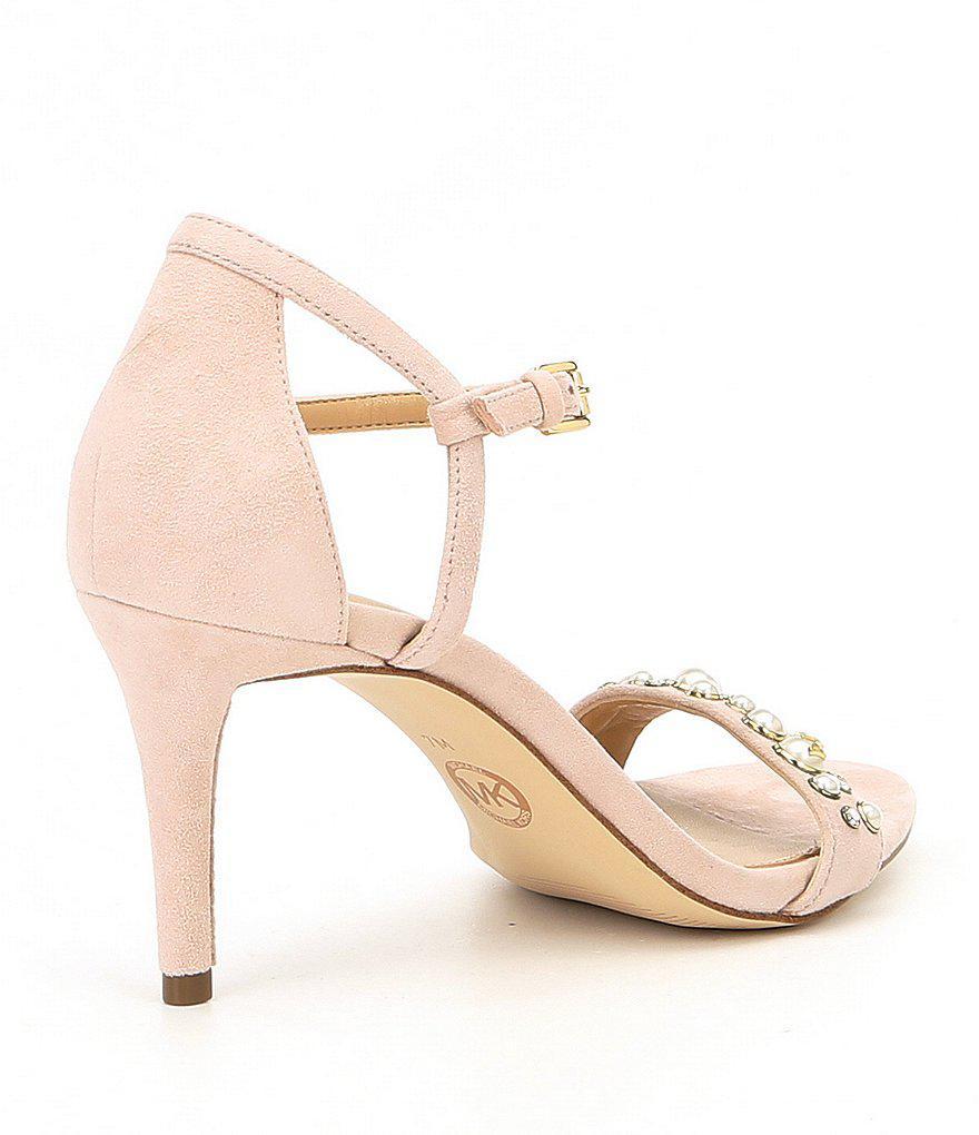 Simone Mid Suede Dress Sandals Kz0GESjTHZ