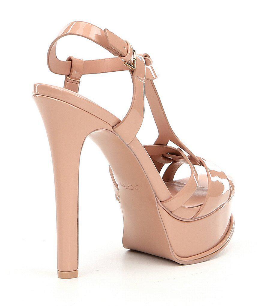 355fb386d4d Lyst - ALDO Chelly Platform Dress Sandals in Pink