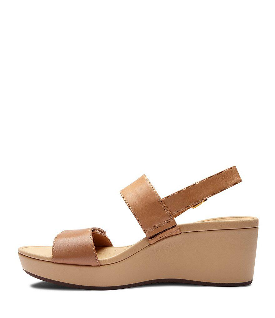 Vionic Lovell Banded Wedge Sandals 7h5Xj