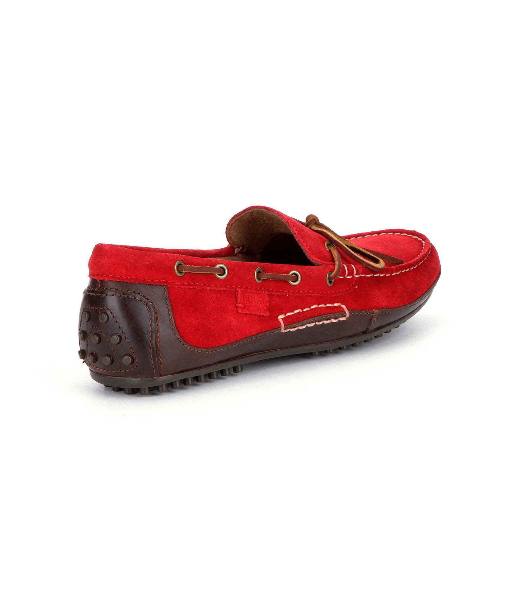 ee9c28b9623 Polo Ralph Lauren - Red Men ́s Wyndings Drivers for Men - Lyst. View  fullscreen