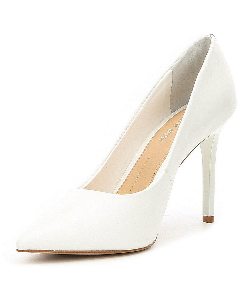 Jilley Sheep Leather Pointed Toe Pumps W3wspHqbd