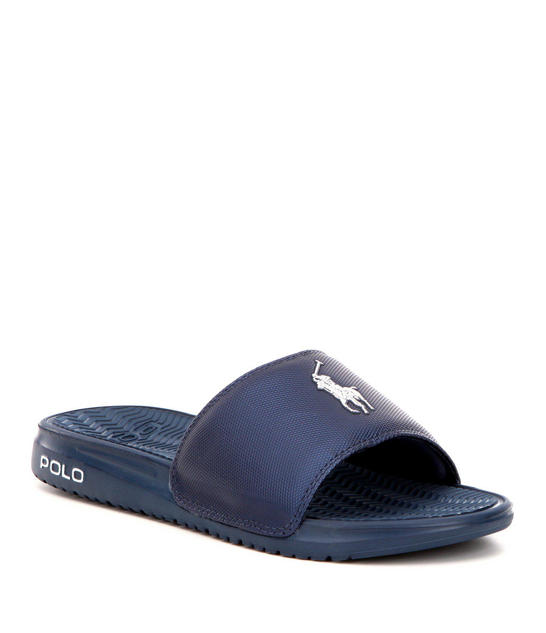 d138e7984d97 Lyst - Polo Ralph Lauren Men ́s Rodwell Slide in Blue for Men - Save 34%