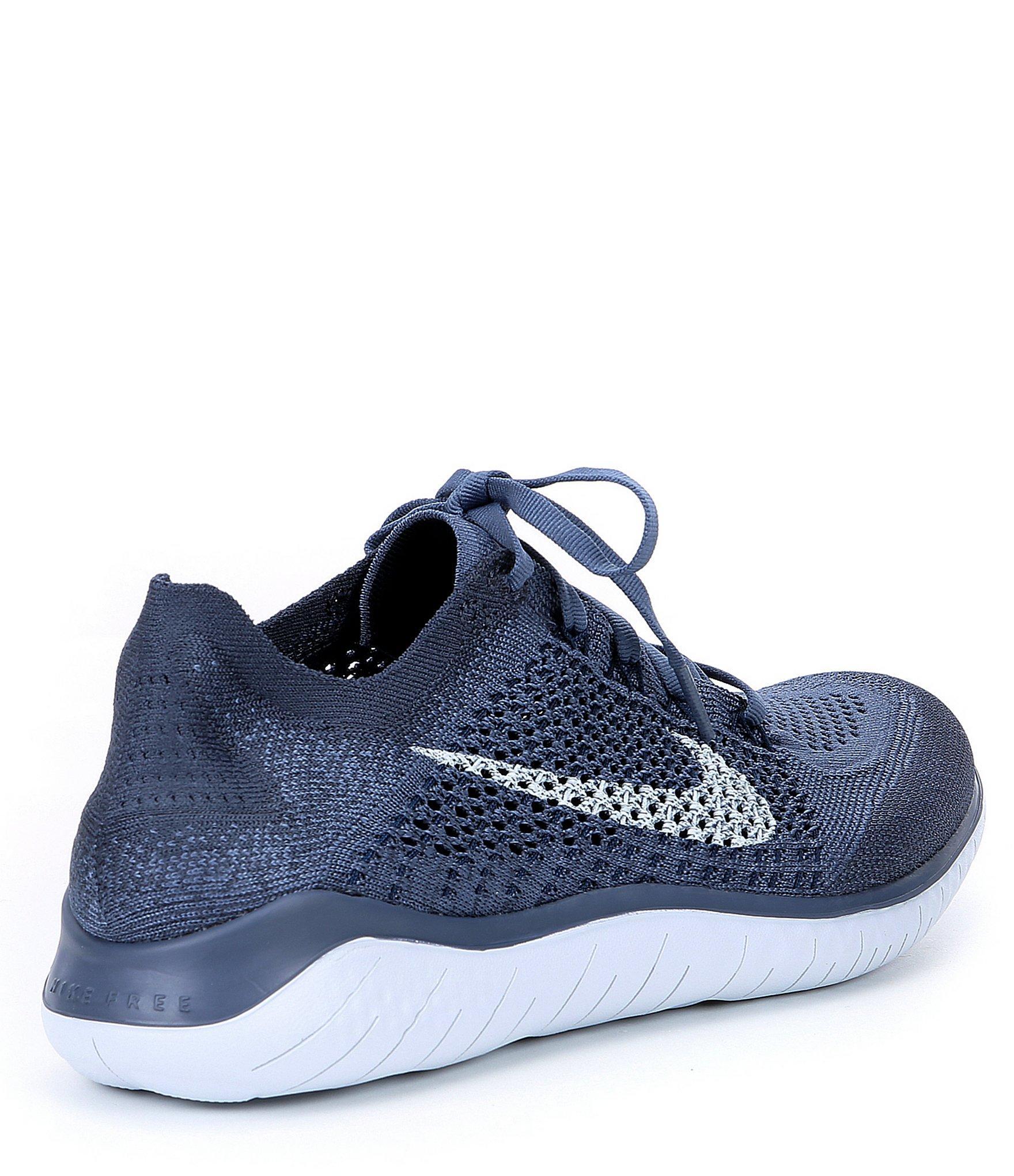 538c203b2872 Nike - Blue Men s Free Rn Flyknit Running Shoes for Men - Lyst. View  fullscreen