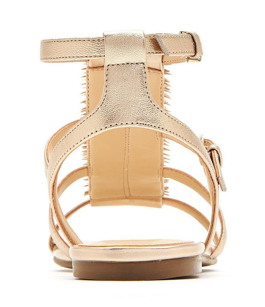 Katy Perry The Alanna Feather Leather Detail Sandals 1uZ2h
