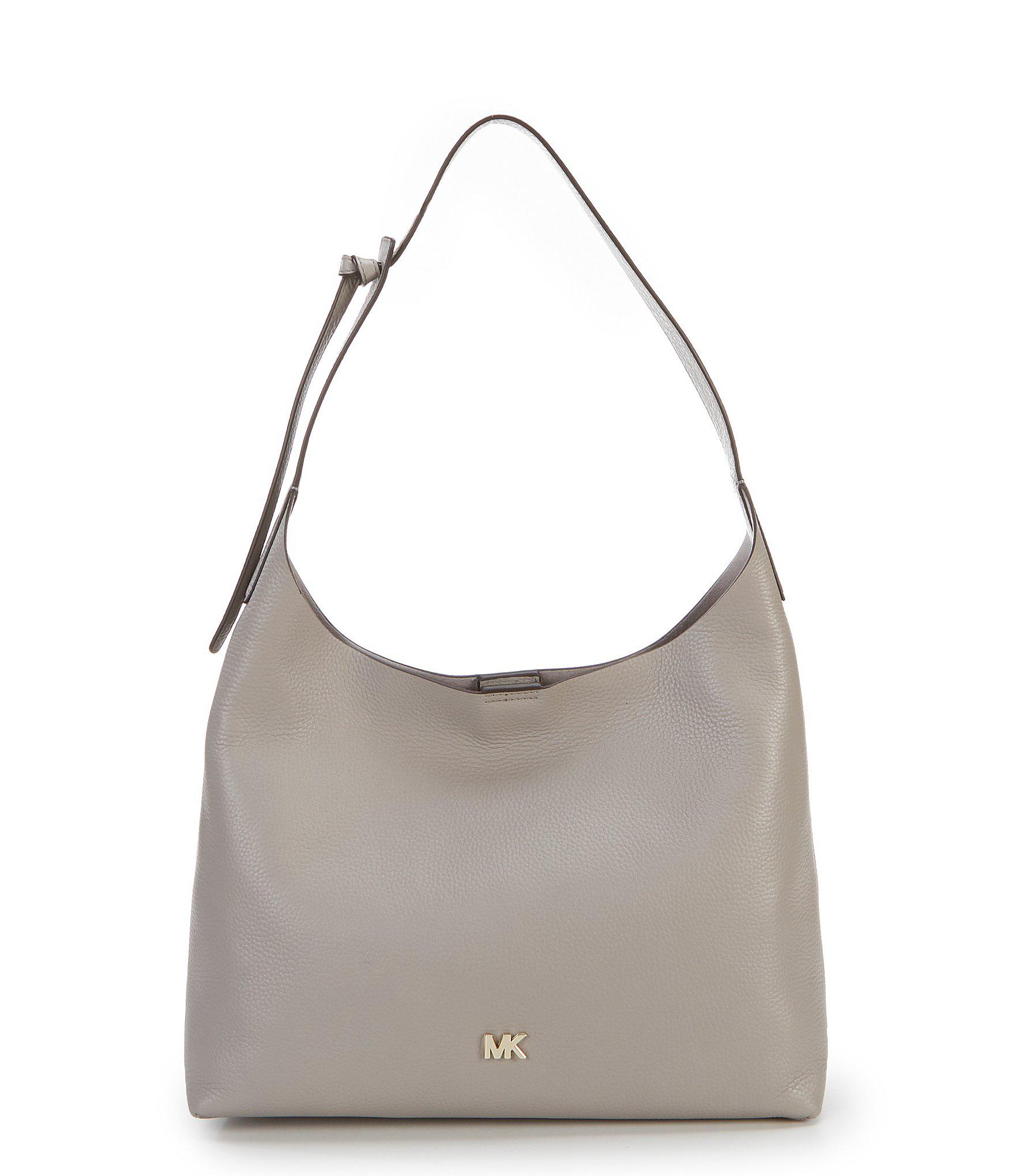 e96ea4e9321f Lyst - MICHAEL Michael Kors Studio Junie Medium Hobo Bag in Gray