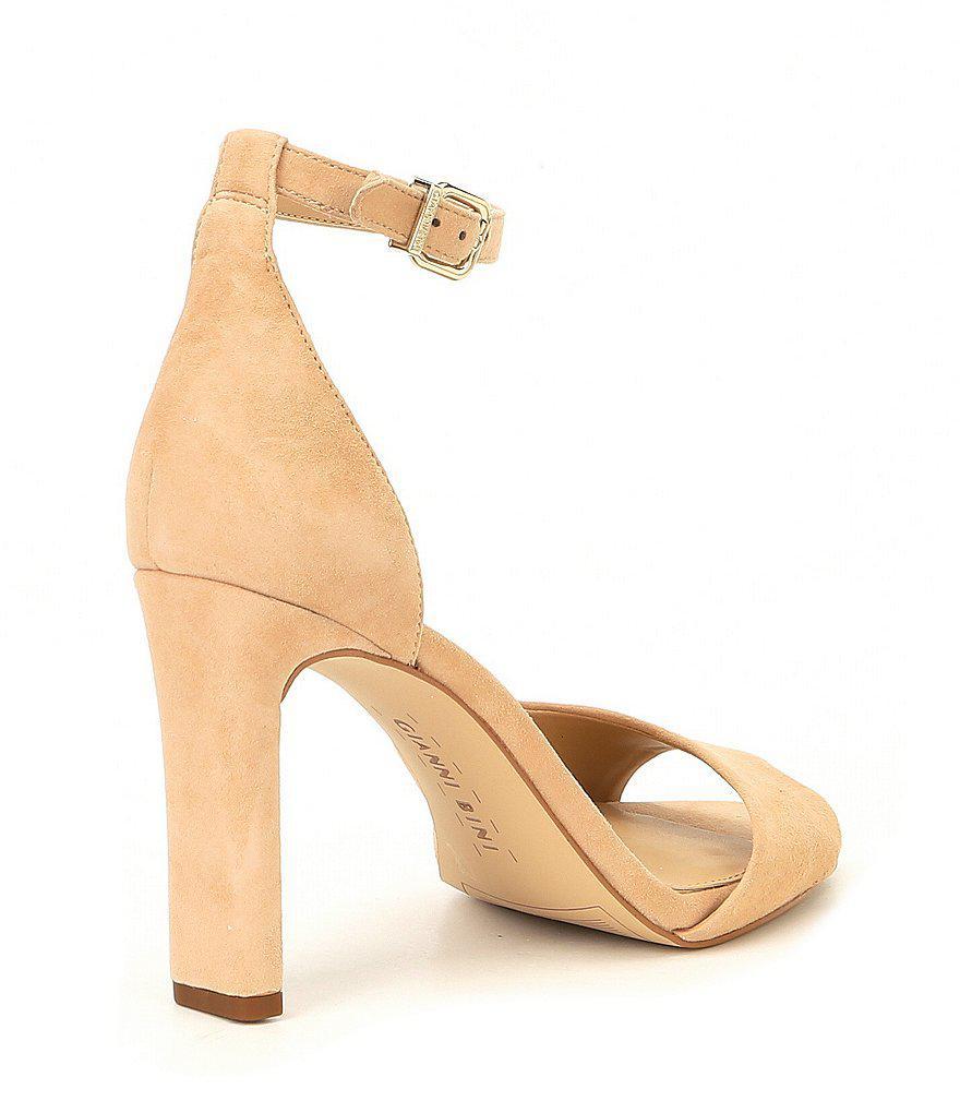 Gianni Bini Keerna Asymmetrical Dress Sandals oifSi