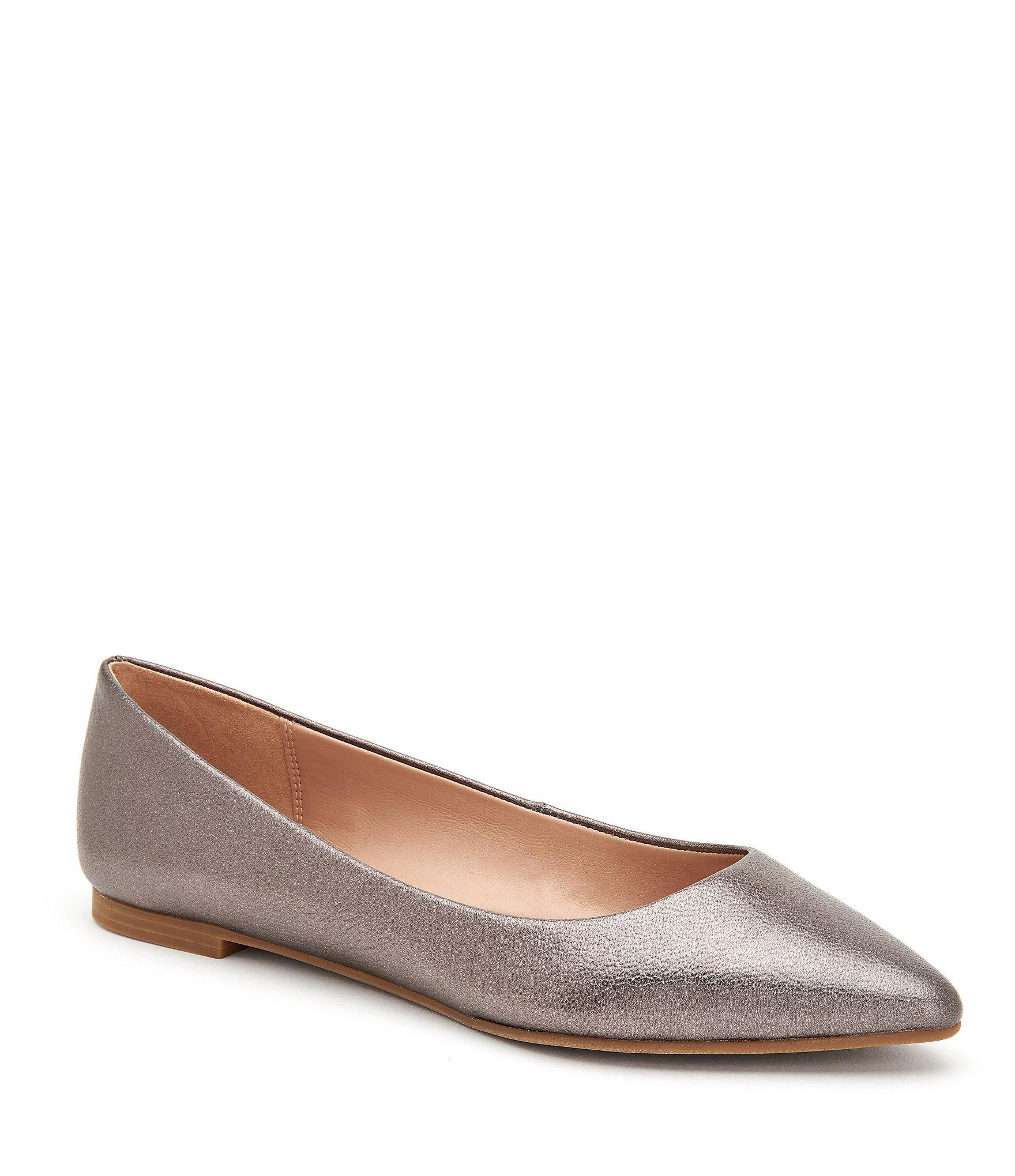 c286cb71a37d15 BCBGeneration. Women s Millie Metallic Leather Flats