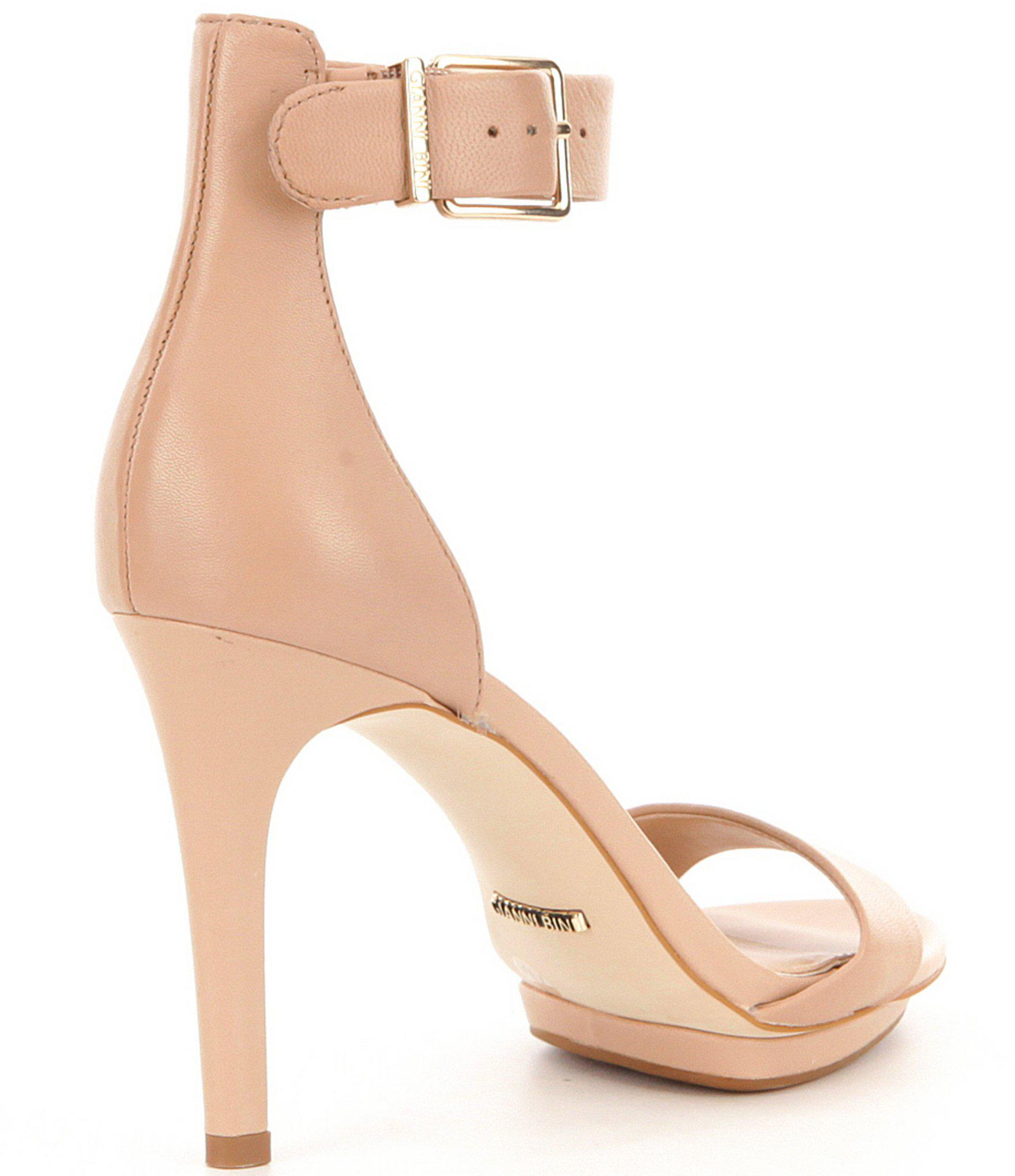 884b1d2f7aa Gianni Bini - Pink Lizette Dress Sandals - Lyst. View fullscreen