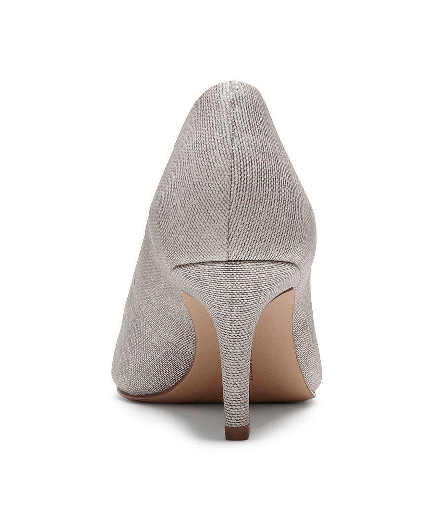 Dania Patterned Tweed Leather Dress Pumps eJ5V0gnzb