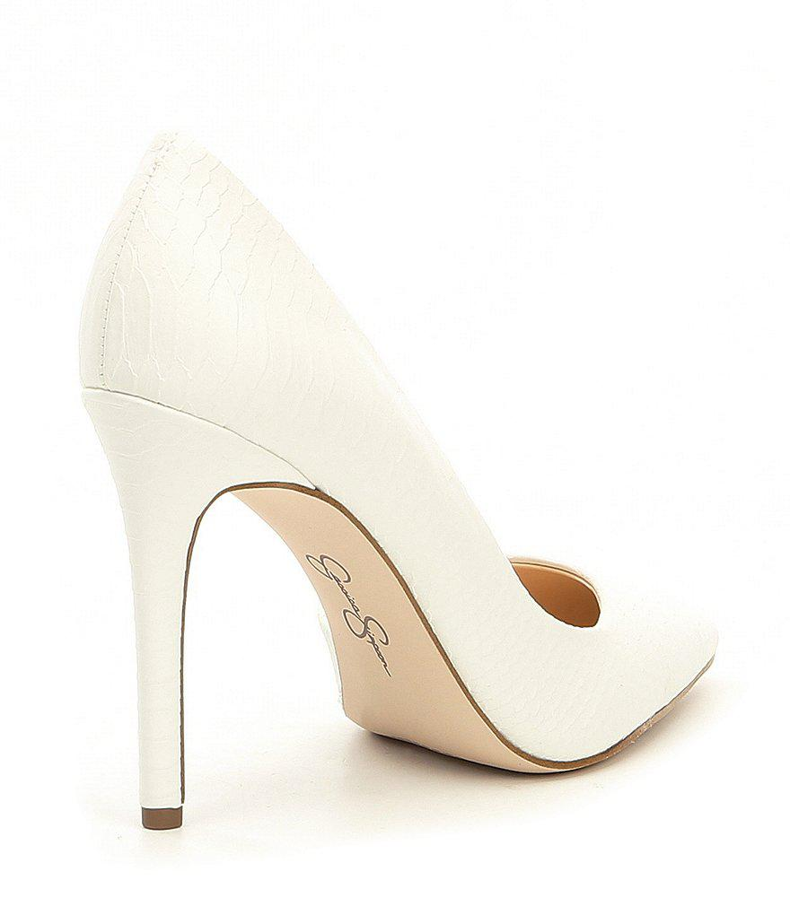 Jessica Simpson Prizma Synthetic d'Orsay Pumps UTKEy7c