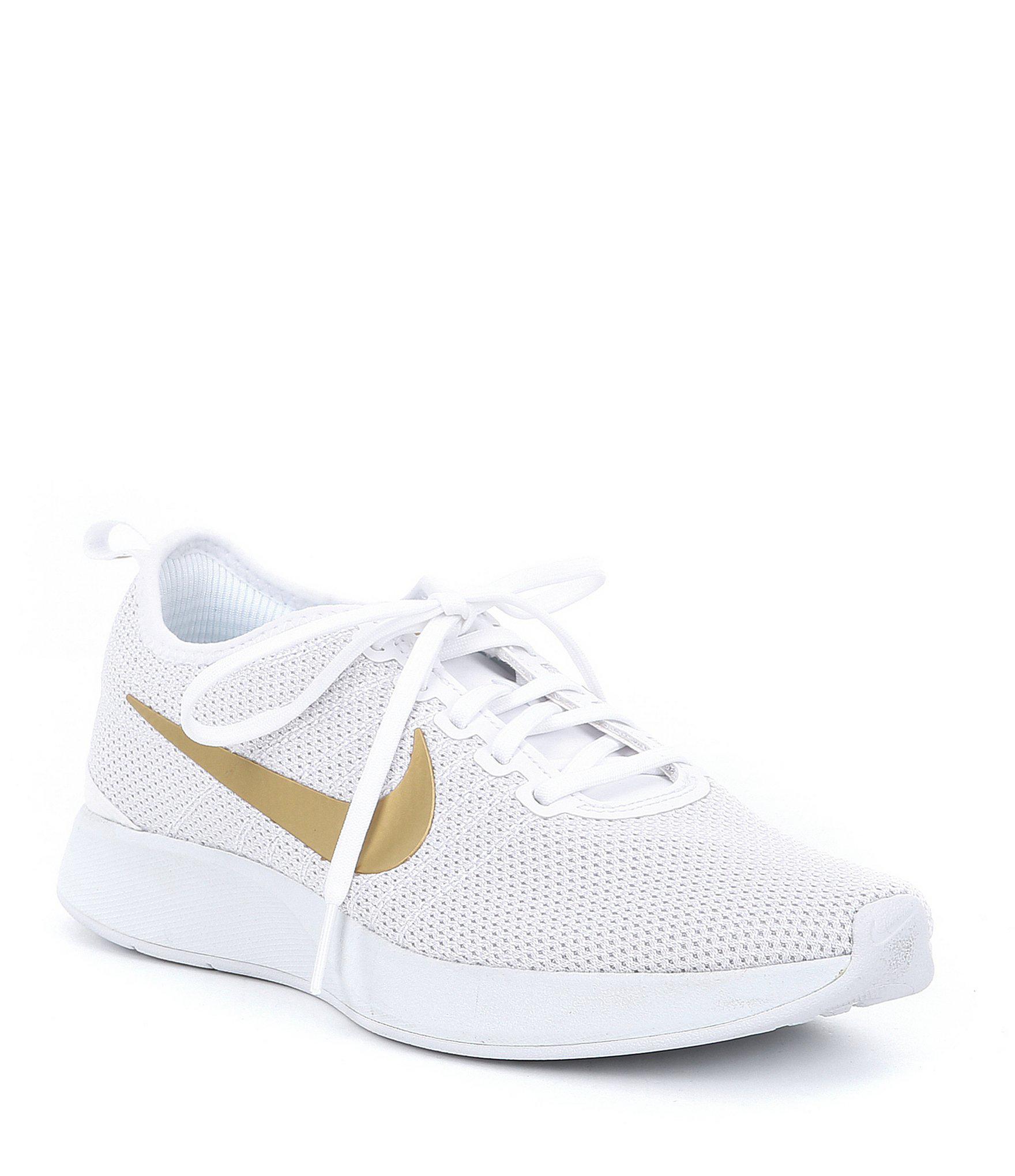ad566ff5751c Lyst - Nike Women s Dualtone Racer Se Sneakers in White