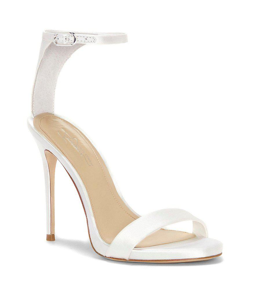 Vince Camuto Women's Dacia Satin Ankle Strap High-Heel Sandals RsNXpGhB