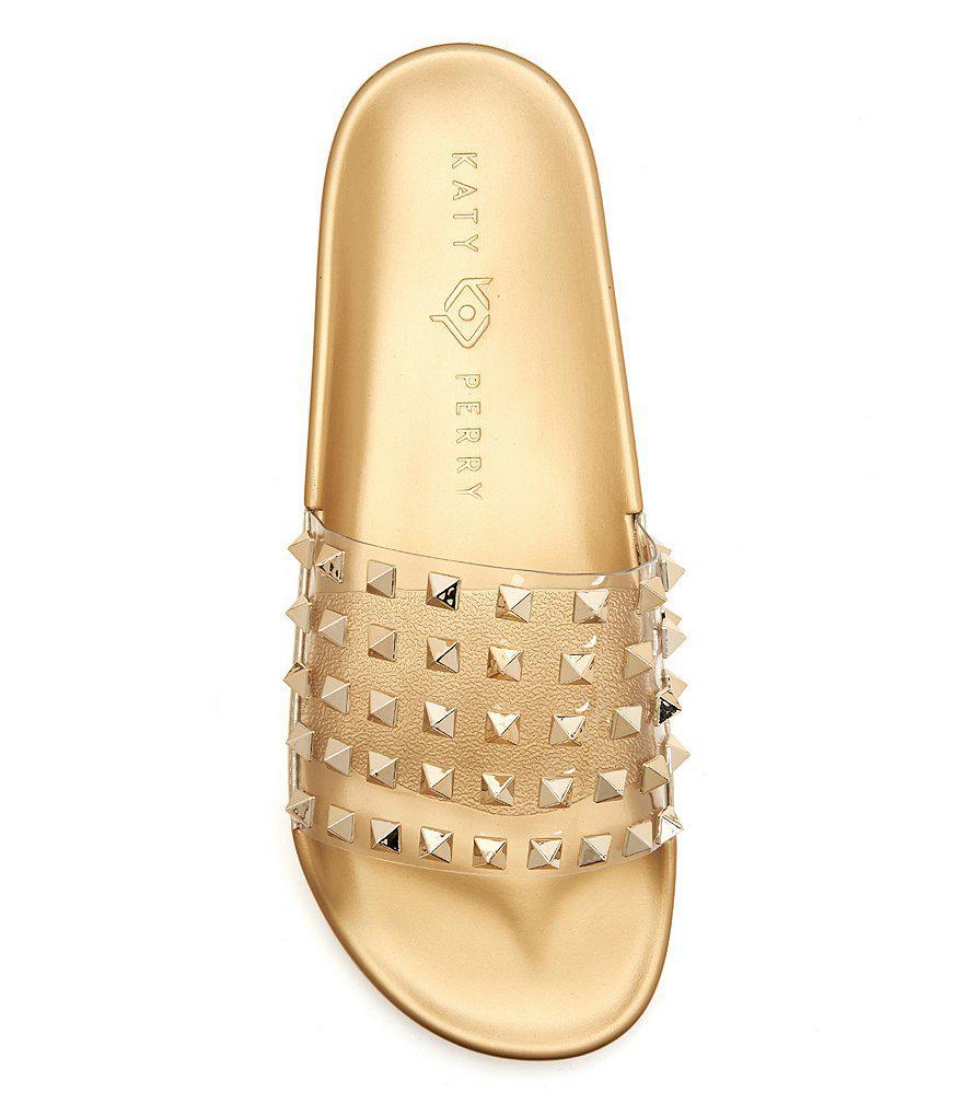 Katy Perry The Tatum Jeweled Stud Detail Slides Gg4giRkP