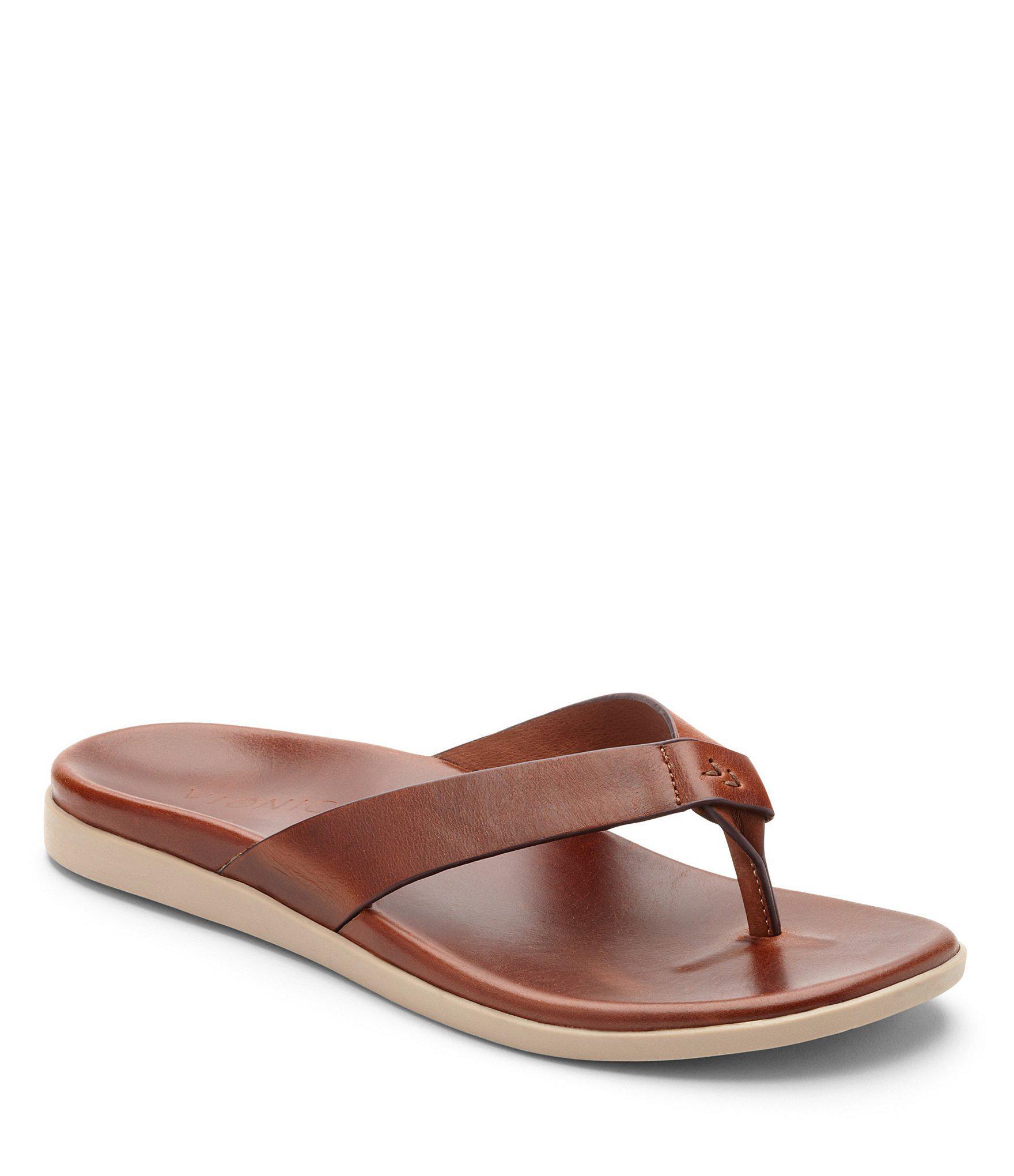 27ae9273a4c9 Lyst - Vionic Men s Elijah Flip-flops in Brown for Men