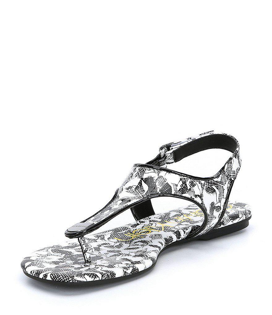 Calvin Klein Shilo Crosshatch Sandals T7qGA63w
