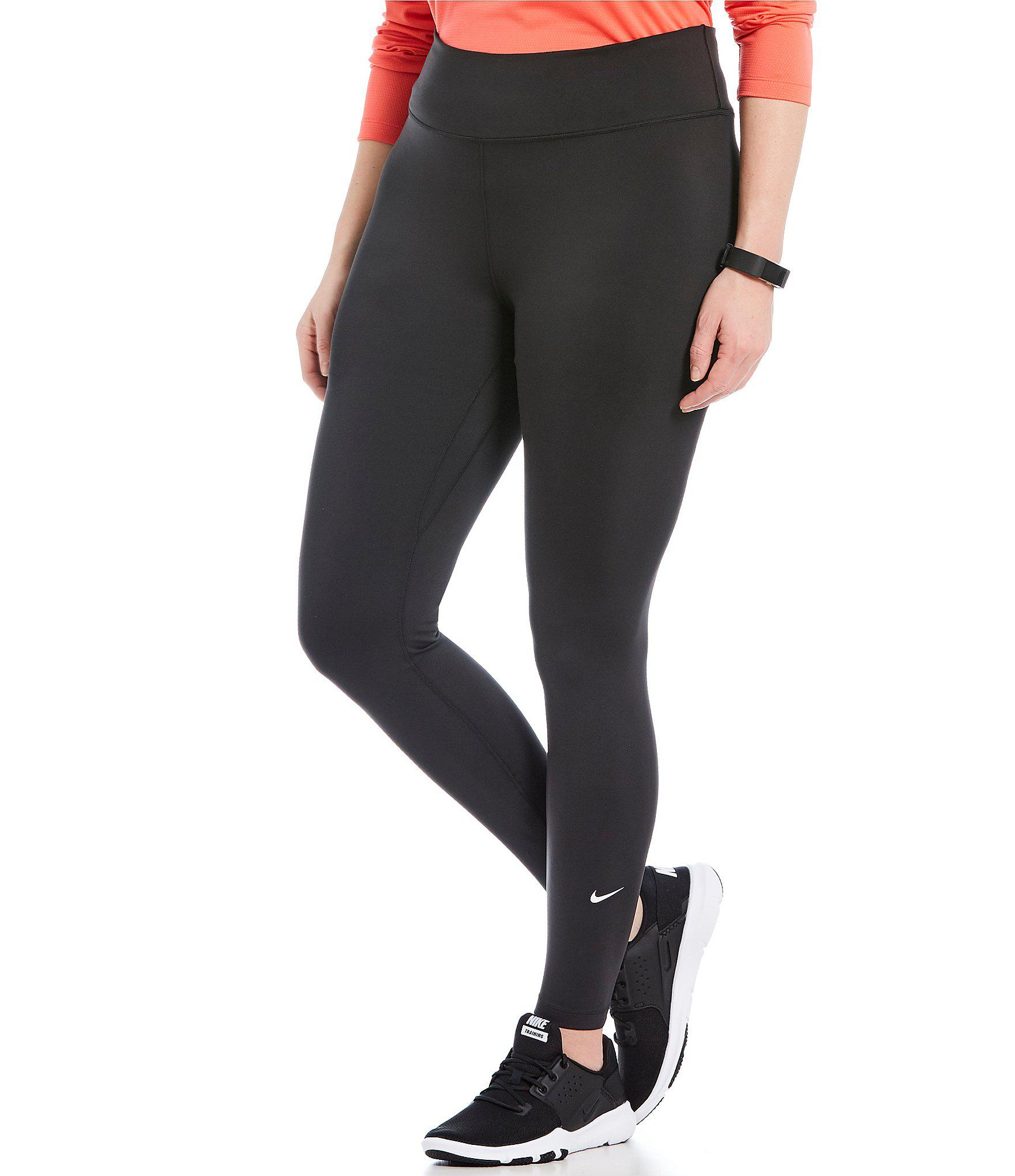 4e27e7119a3b6 Lyst - Nike Plus All-in Training Tights in Black