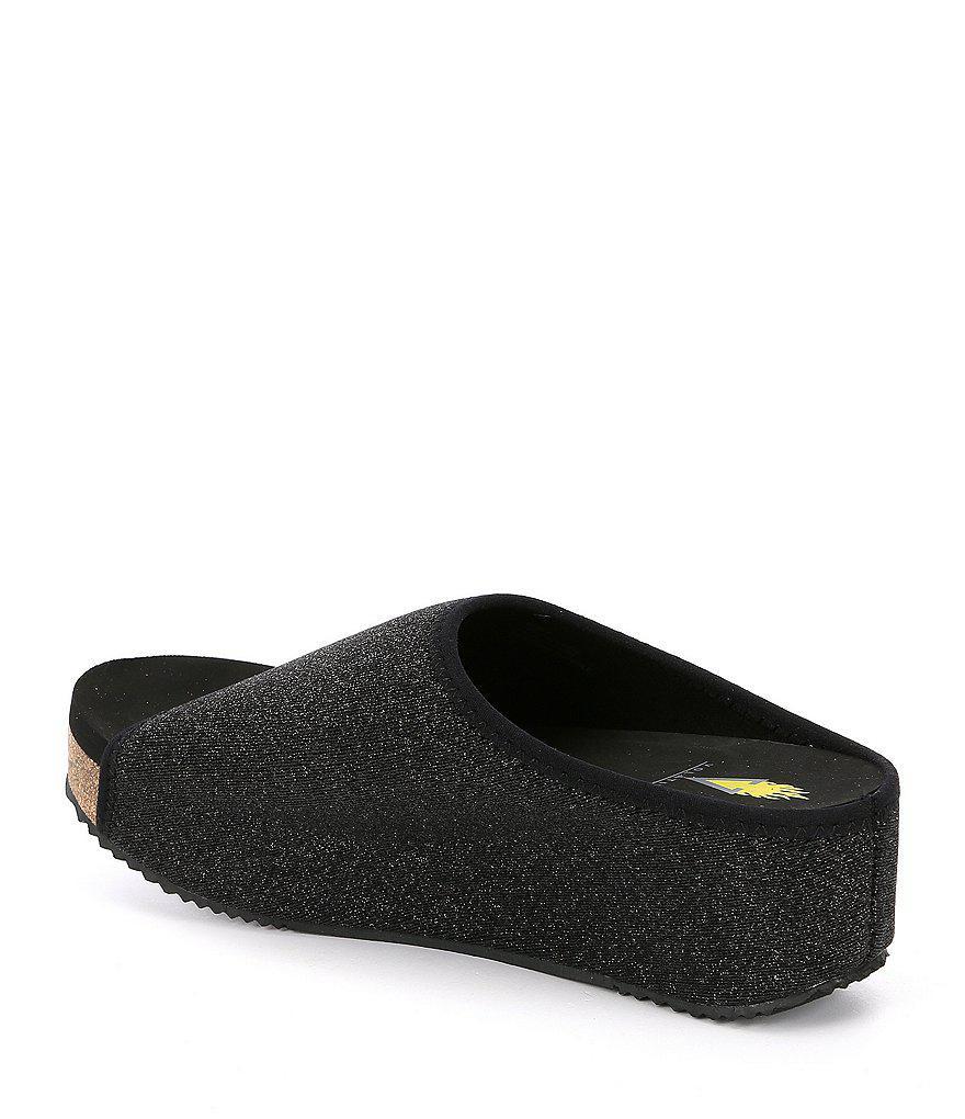 Volatile Elias Metallic Platform Sandals YsmqN