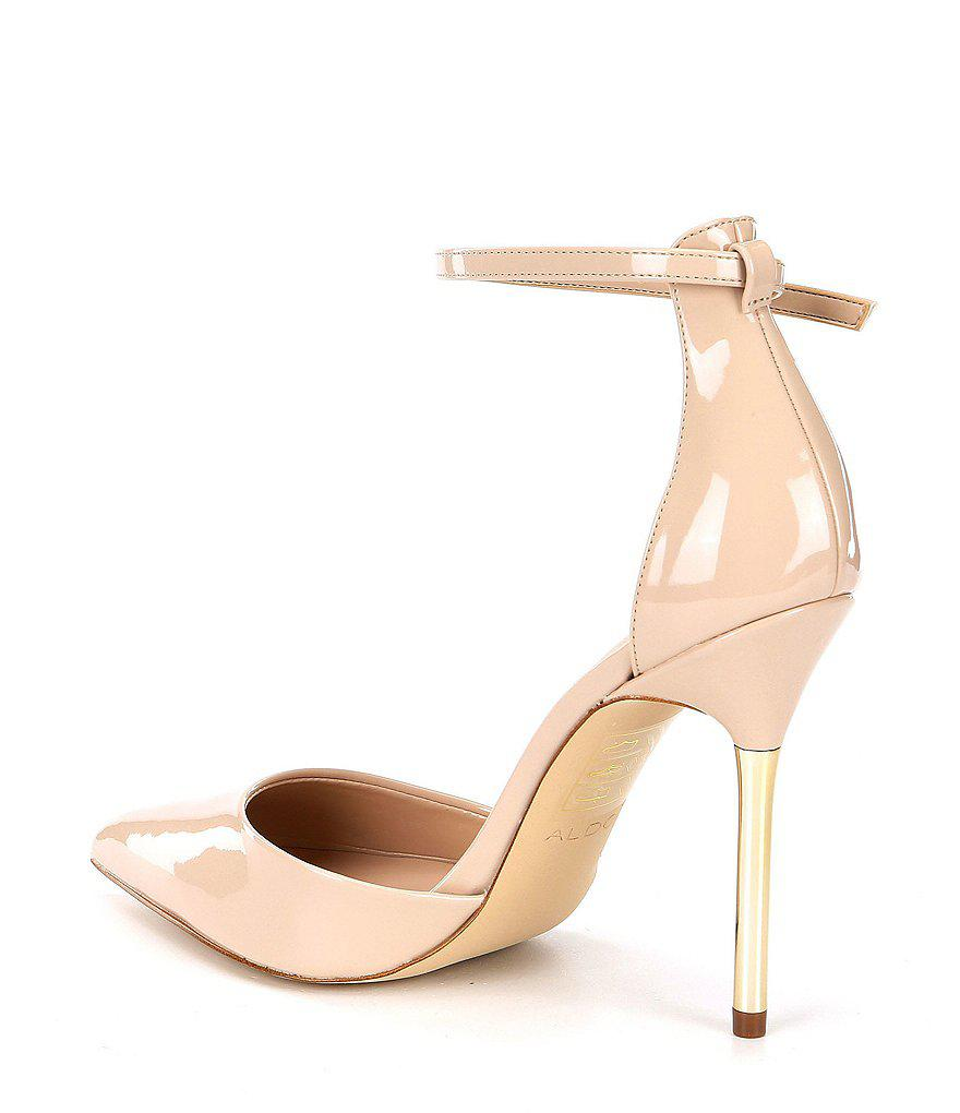 Aldo Onasa Ankle Strap d'Orsay Pumps hD8ldFW