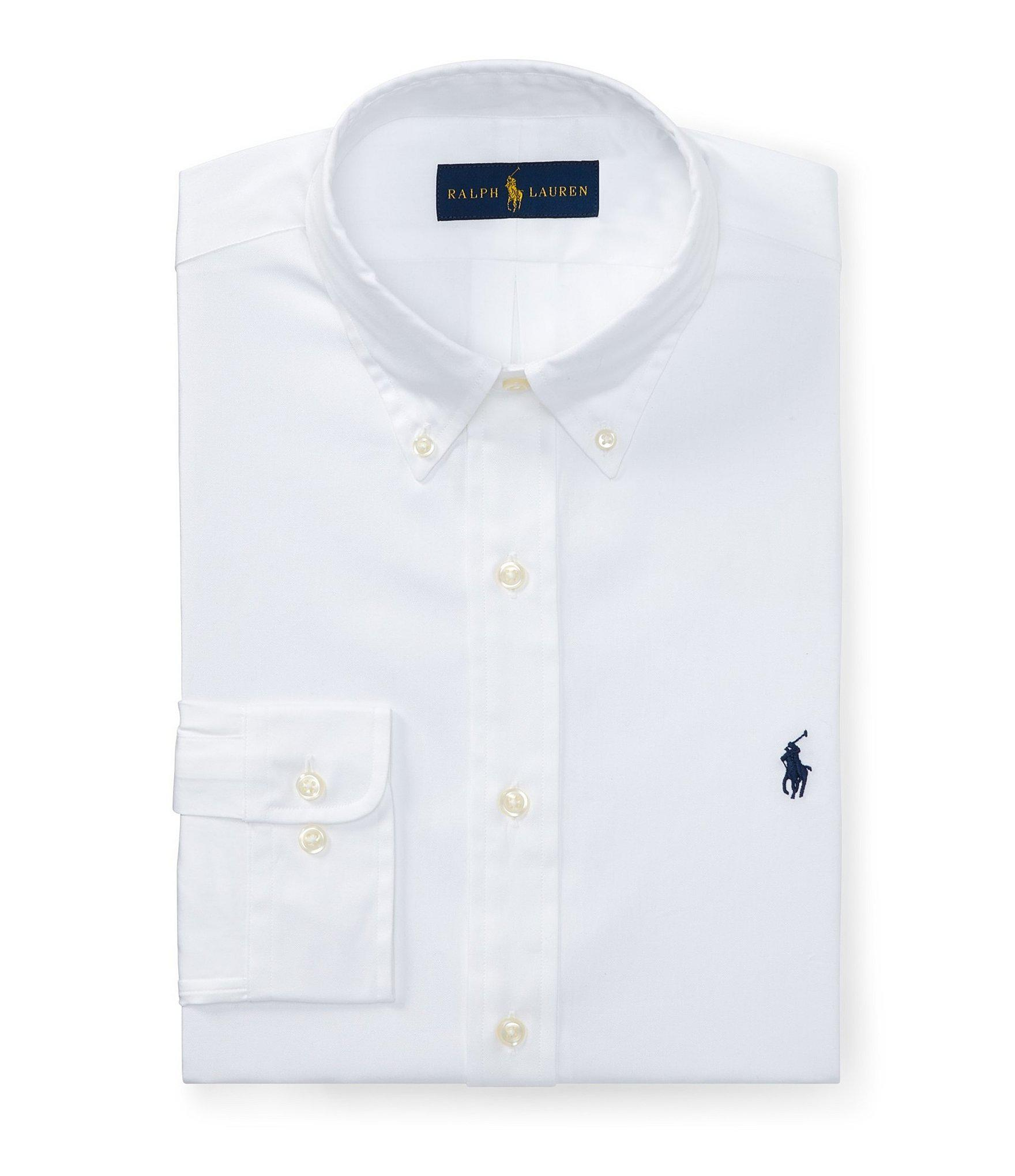 Lyst Polo Ralph Lauren Fitted Classic Fit Solid Oxford Dress Shirt