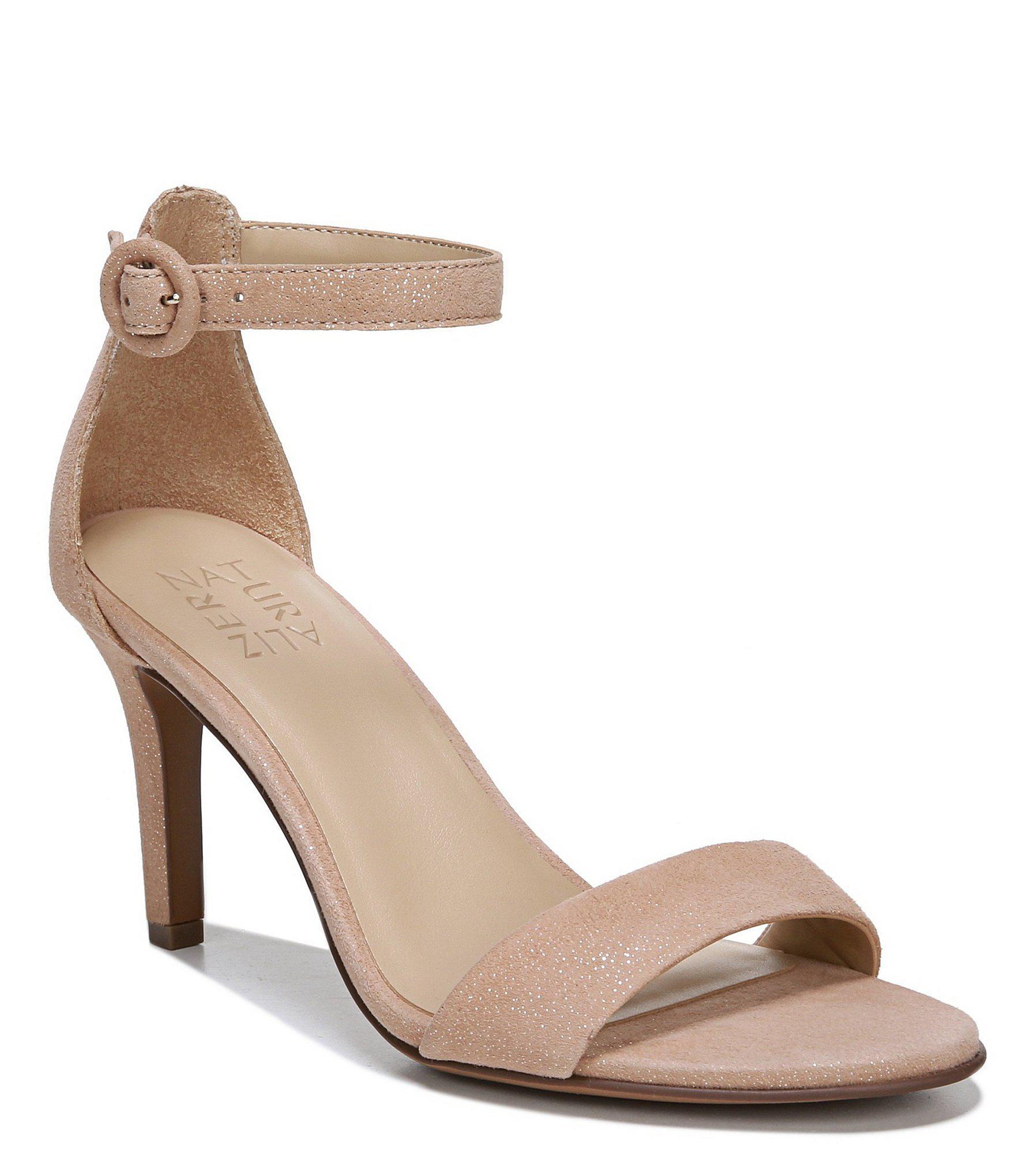 6e8653de976526 Naturalizer. Women s Kinsley Suede Ankle Strap Dress Sandals