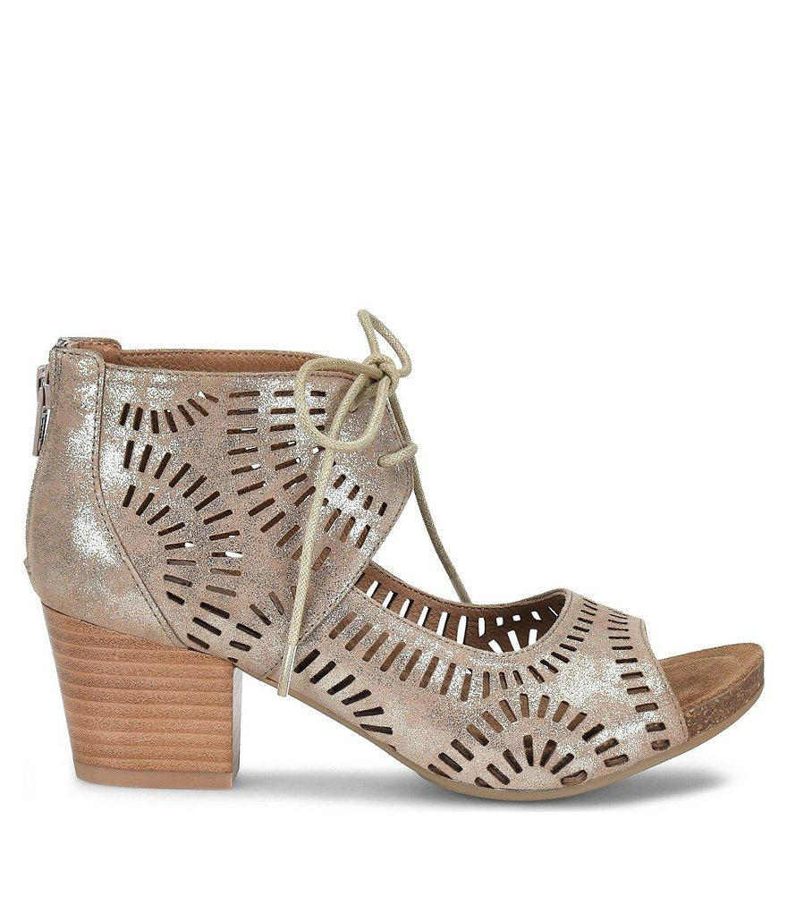 Sofft Leather Ghillie Sandals - Modesto get to buy cheap price sale online big discount A2aLIm
