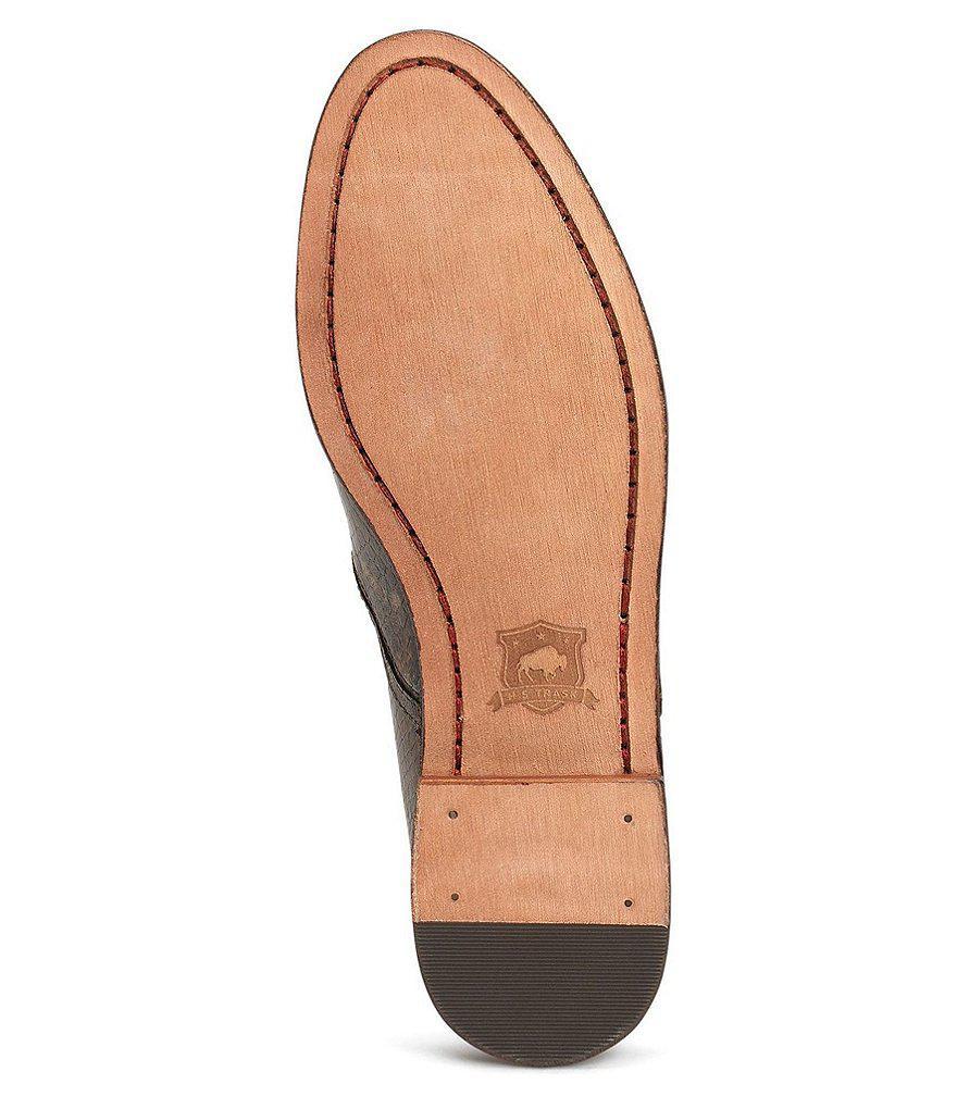 Trask Ali Snake Print Block Heel Loafers fT2pq8OVKM