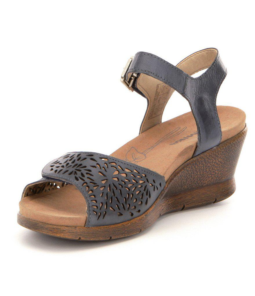 Romika Nevis 05 Cutout Banded Leather Sandals fCAAl