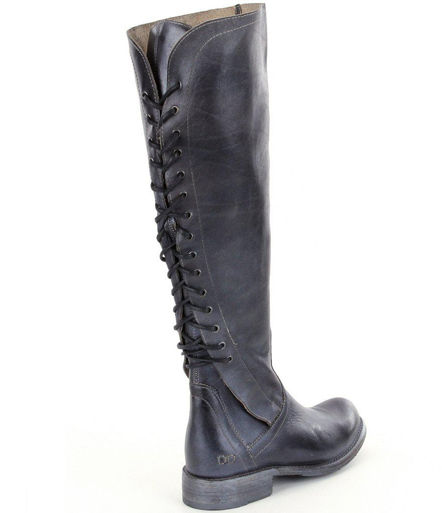 Surrey Tall Lace Up Back Block Heel Boots sxd1Ea7f