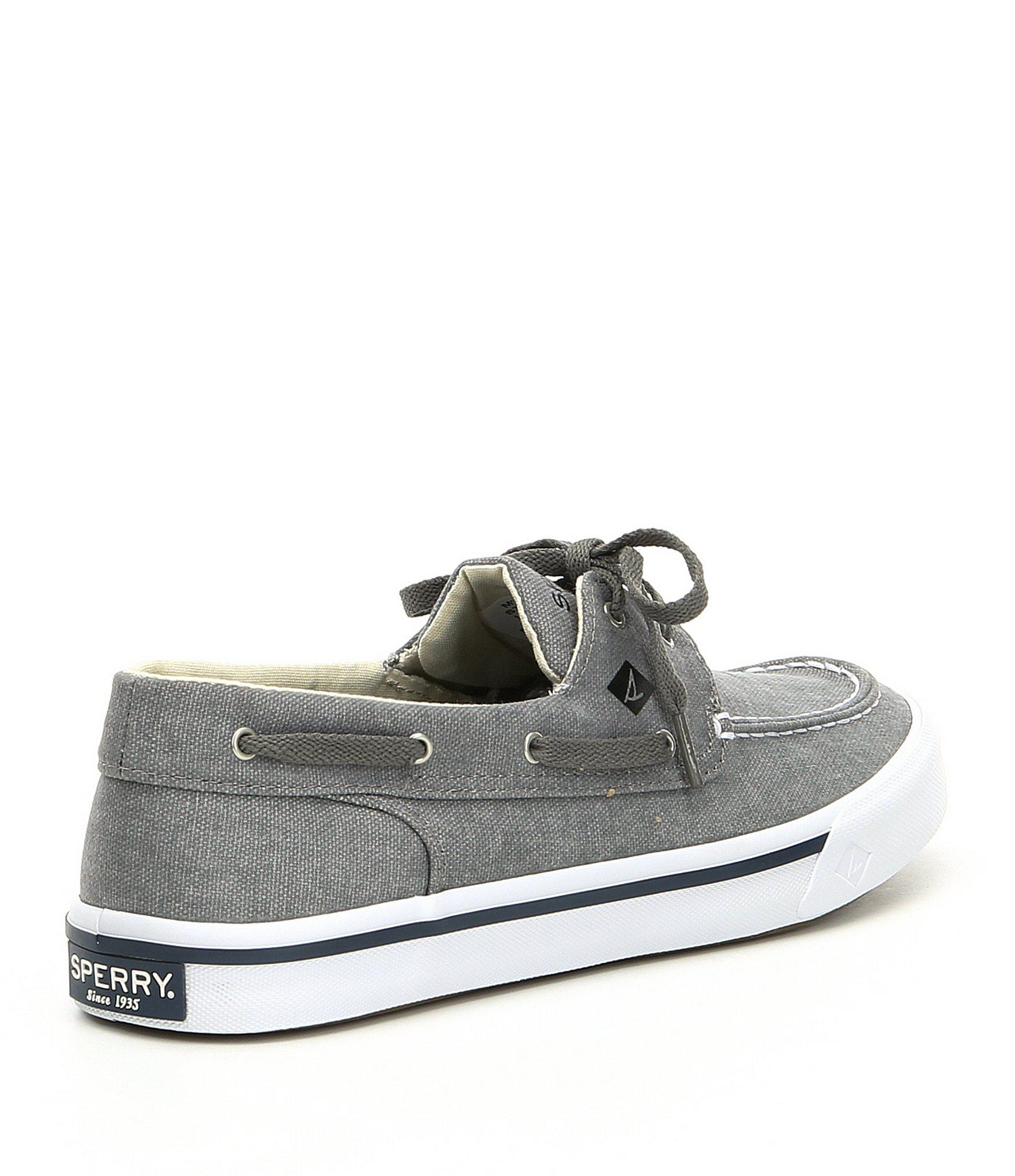 afcafdca359 Lyst - Sperry Top-Sider Men s Bahama Ii Boat Shoes in Gray for Men